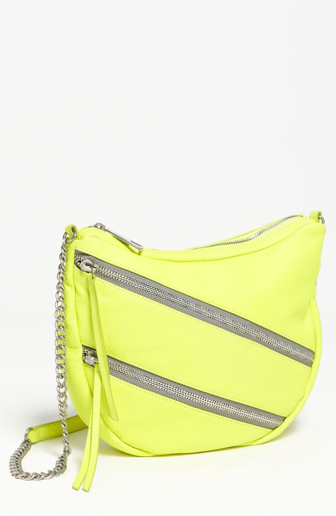 Alternate Image 1 Selected - Kelsi Dagger Leather Crossbody Bag