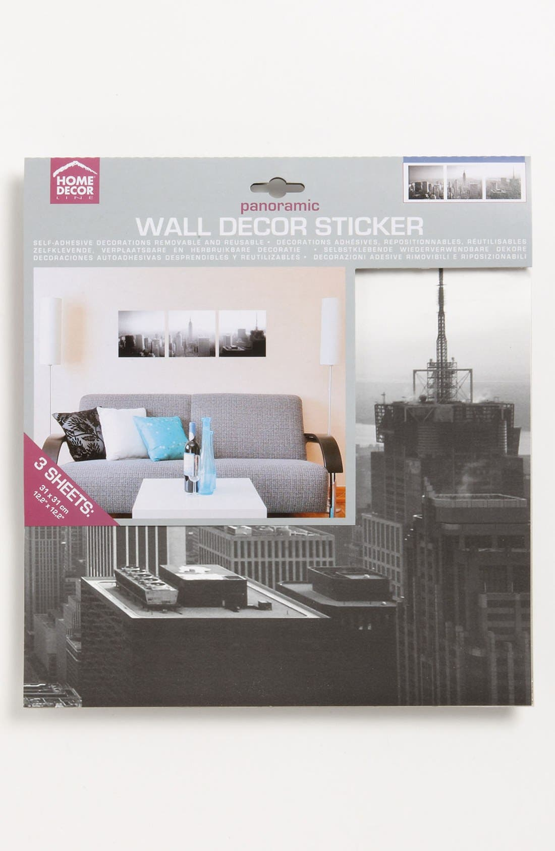 Alternate Image 2  - Wallpops New York Print Wall Art