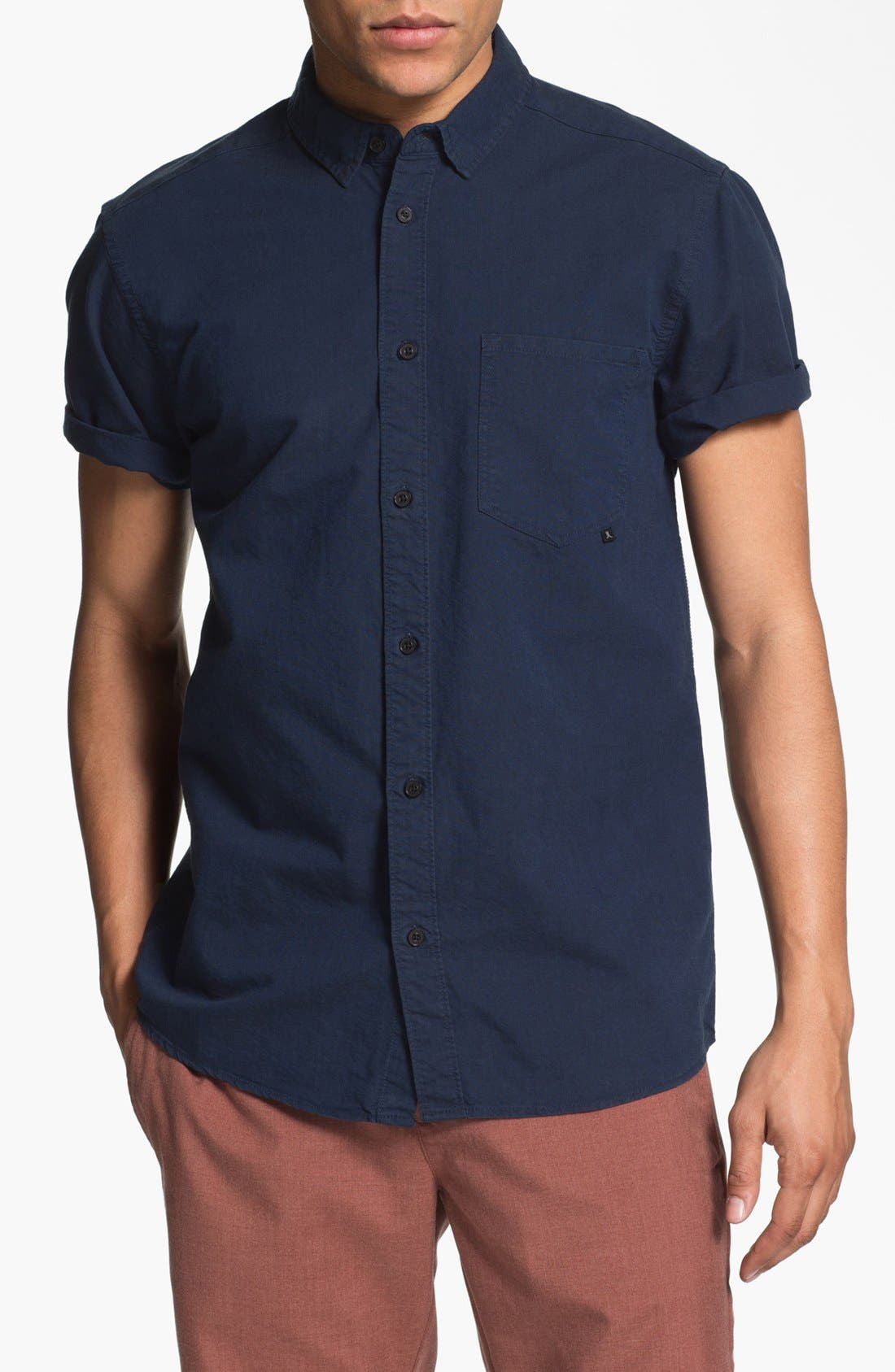 Alternate Image 1 Selected - WeSC 'Eric' Woven Shirt