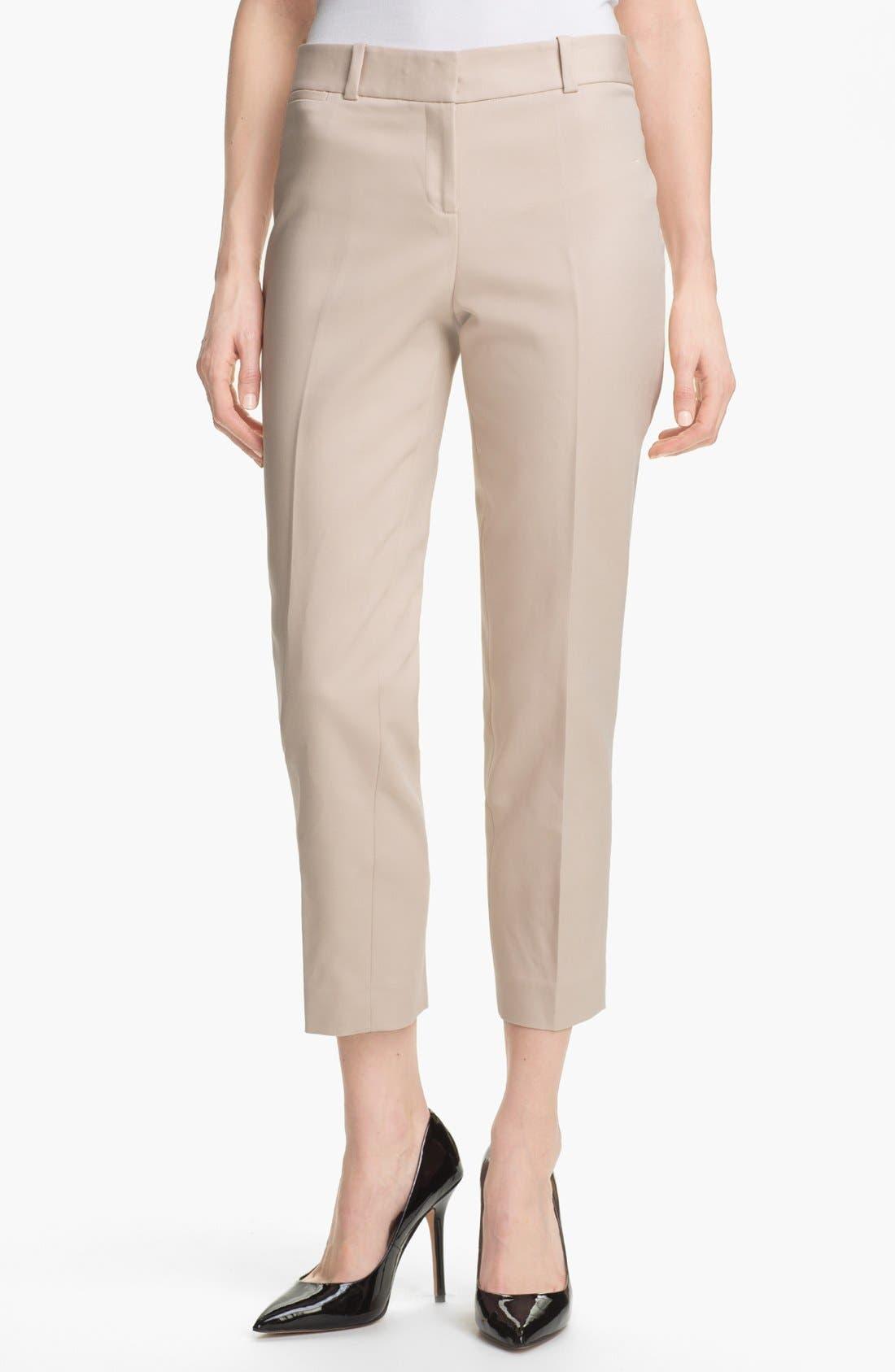 Alternate Image 1 Selected - Anne Klein Slim Leg Pants
