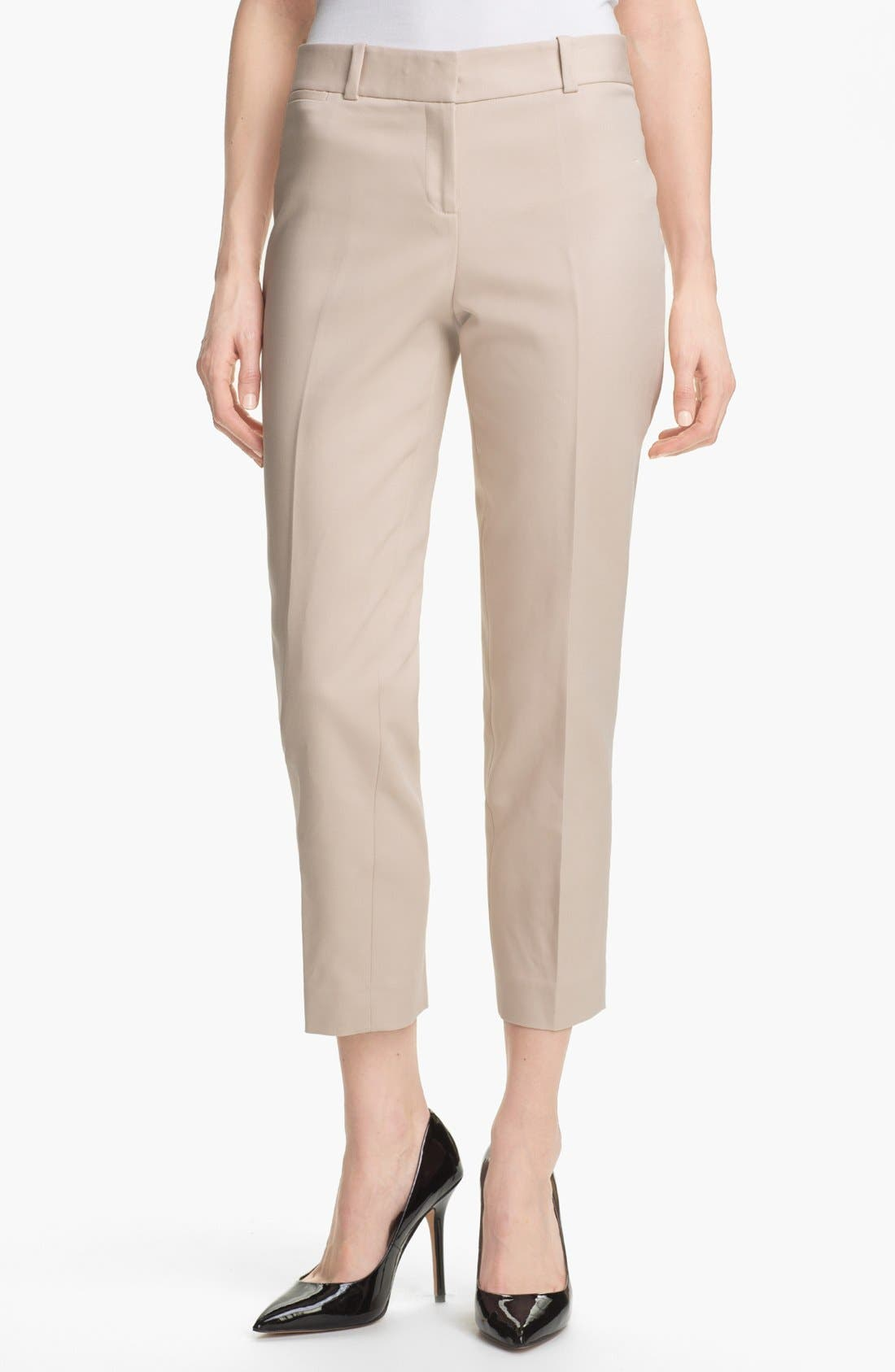 Main Image - Anne Klein Slim Leg Pants