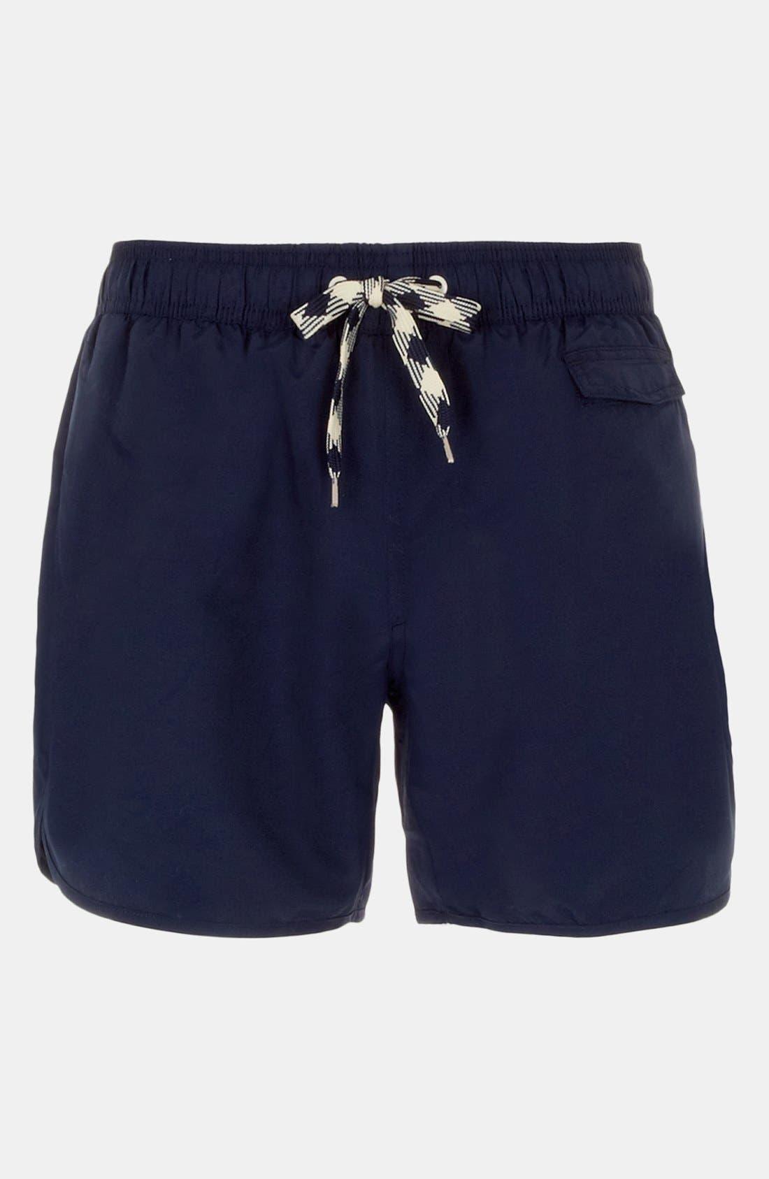 Alternate Image 1 Selected - Topman 'Cornwall' Swim Trunks