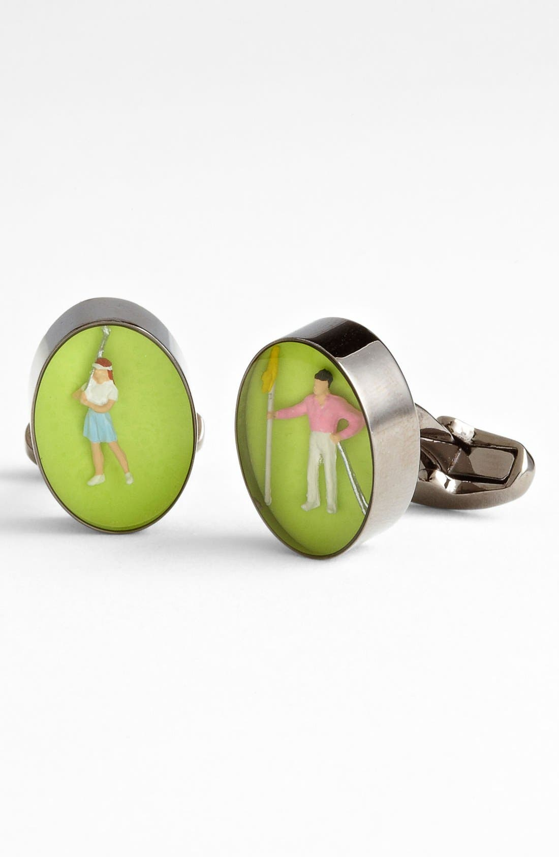 Alternate Image 1 Selected - Paul Smith Accessories 'Golfing Figure' Cuff Links