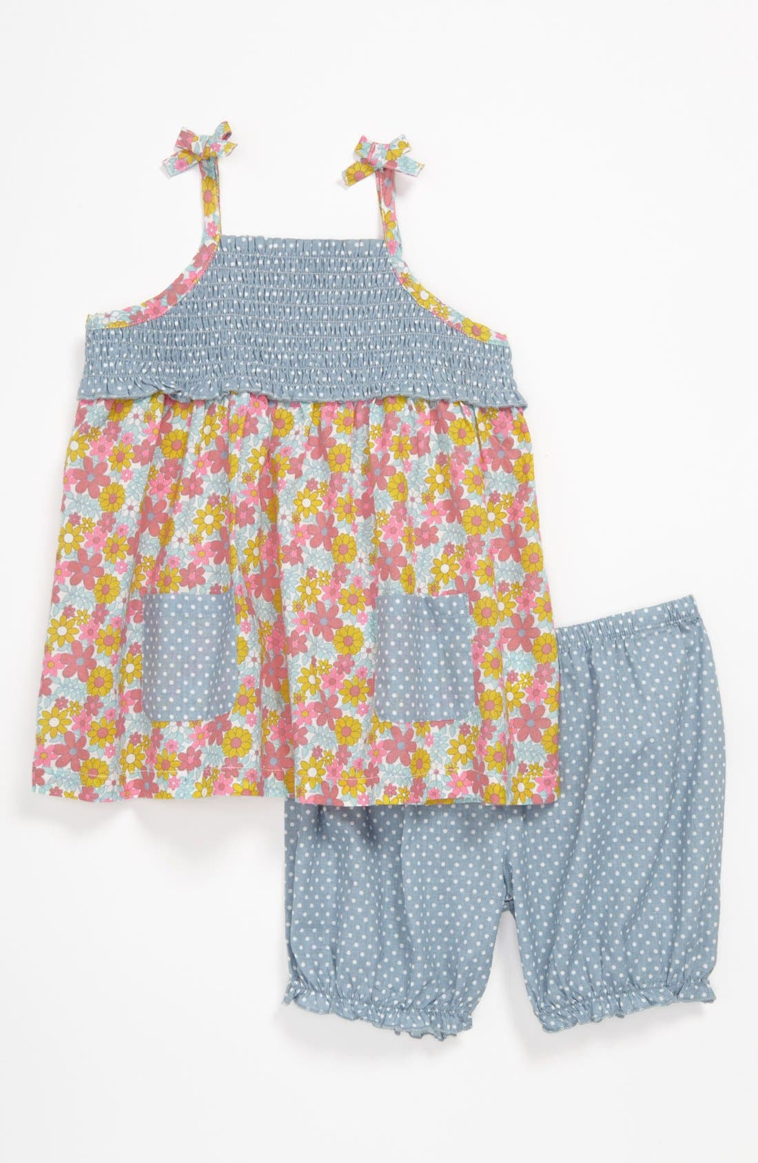 Alternate Image 1 Selected - Nordstrom Baby Dress & Pants (Baby)