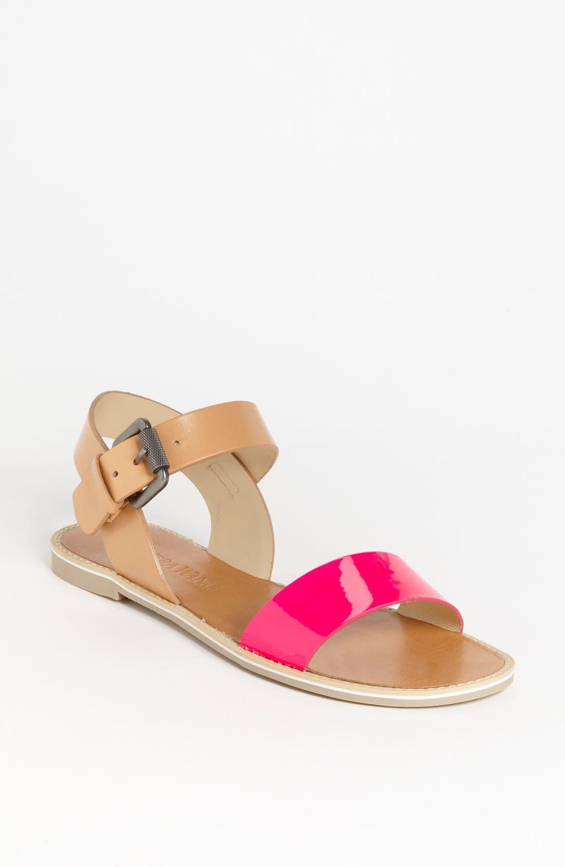 Alternate Image 1 Selected - Vera Wang Footwear 'Febe' Sandal (Online Only)
