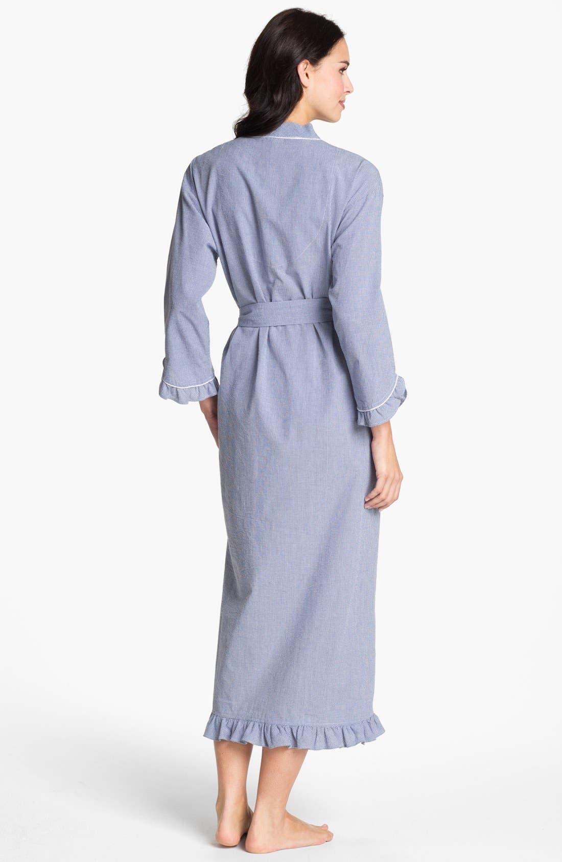Alternate Image 2  - Eileen West 'Starfish' Ruffled Robe