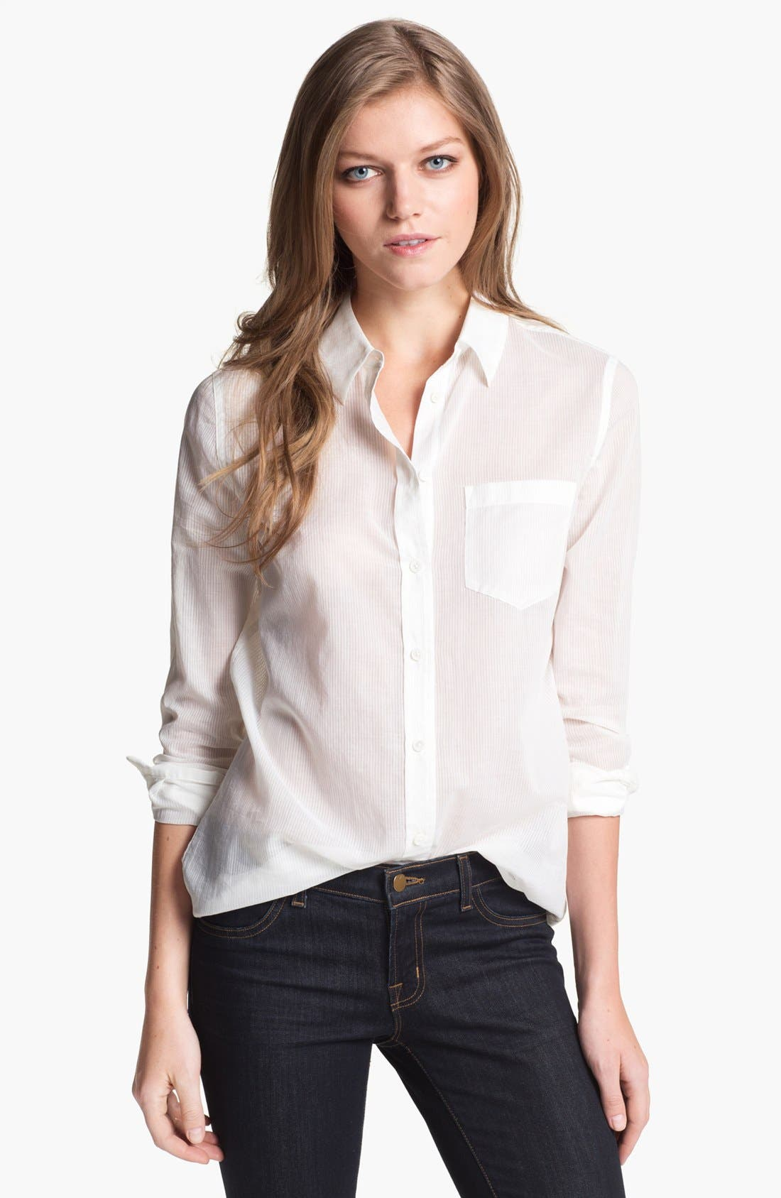 Alternate Image 1 Selected - Equipment 'Reese' Cotton Shirt