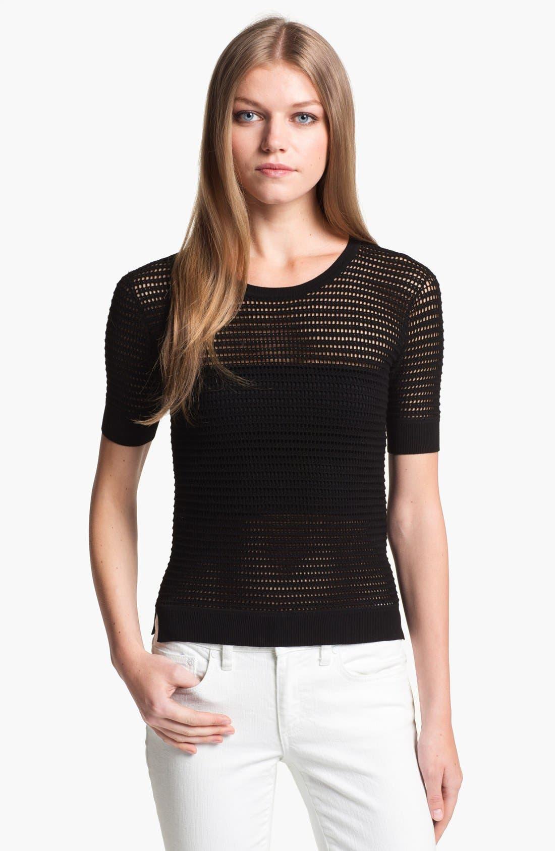 Alternate Image 1 Selected - Theory 'Symon' Crewneck Sweater