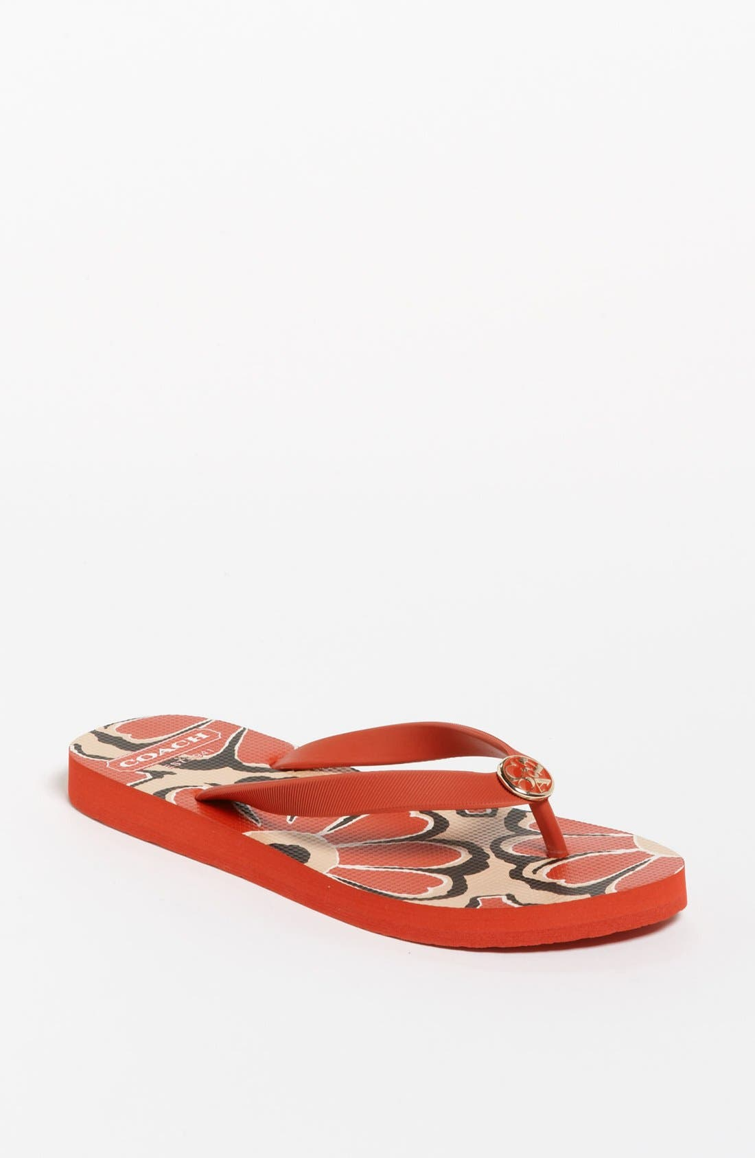 Alternate Image 1 Selected - COACH 'Alessa' Flip Flop