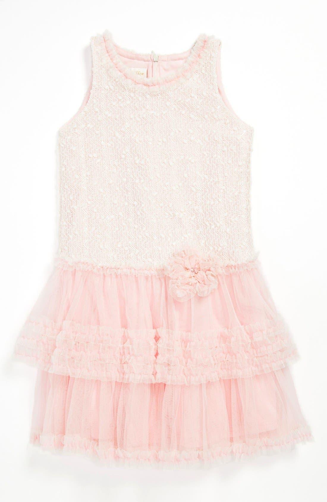 Alternate Image 1 Selected - Isobella & Chloe Drop Waist Dress (Little Girls)
