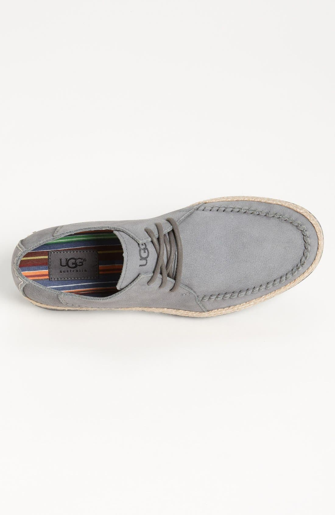 Alternate Image 3  - UGG® Australia 'McCall' Moc Toe Derby (Men)