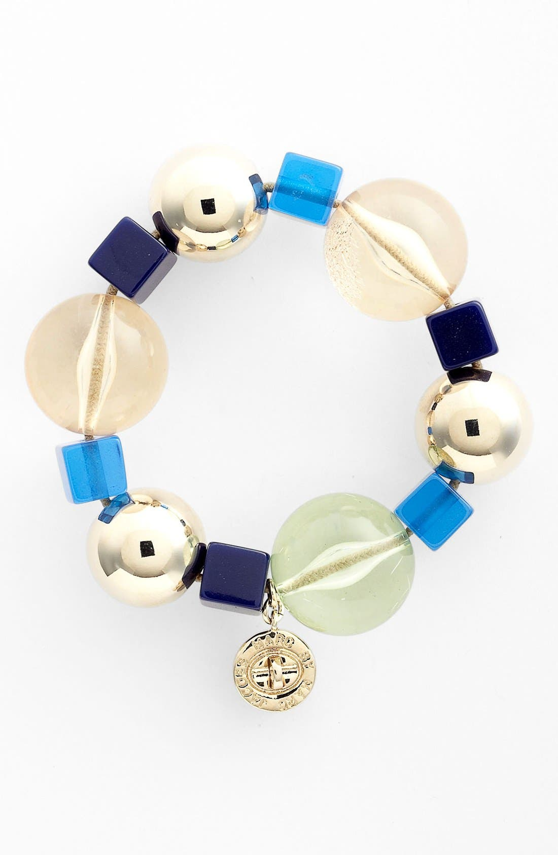 Alternate Image 1 Selected - MARC BY MARC JACOBS 'Ball & Chains' Bead Stretch Bracelet