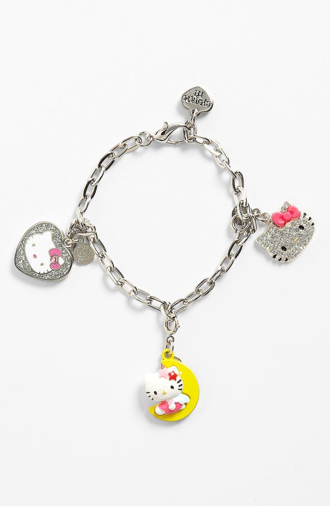 Alternate Image 1 Selected - CHARM IT!® 'Hello Kitty®' Charm Bracelet Gift Set (Girls)