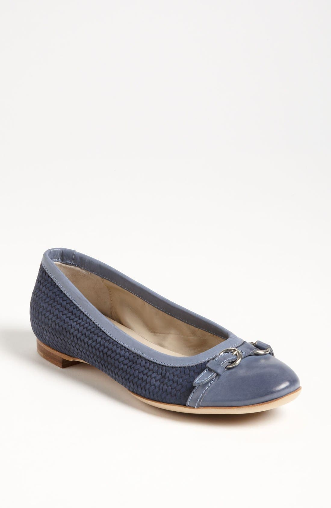 Alternate Image 1 Selected - Attilio Giusti Leombruni Weave Toe Cap Ballet Flat