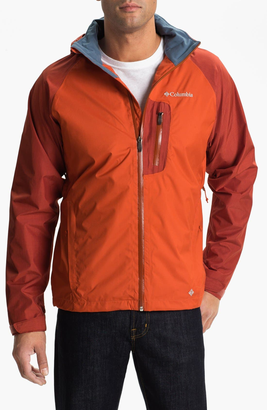Alternate Image 1 Selected - Columbia 'Rain Tech™ II' Jacket (Big & Tall)