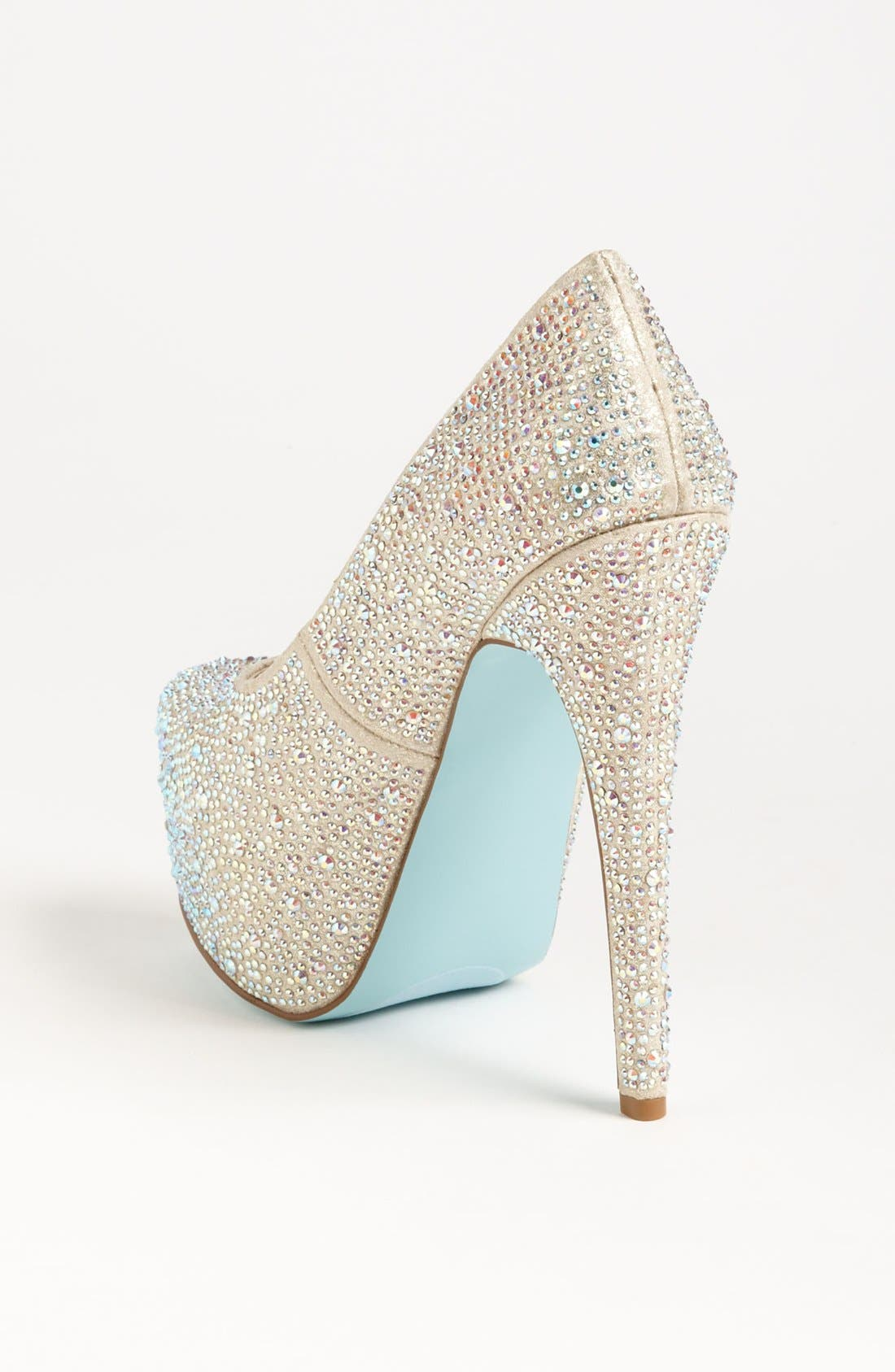 Alternate Image 2  - Blue by Betsey Johnson 'Wish' Pump