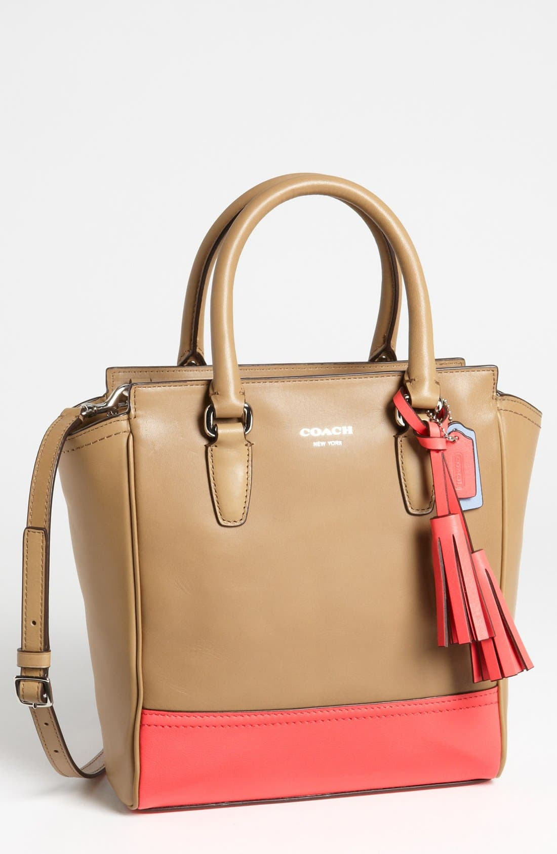 Main Image - COACH 'Legacy Colorblock Tanner - Mini' Tote