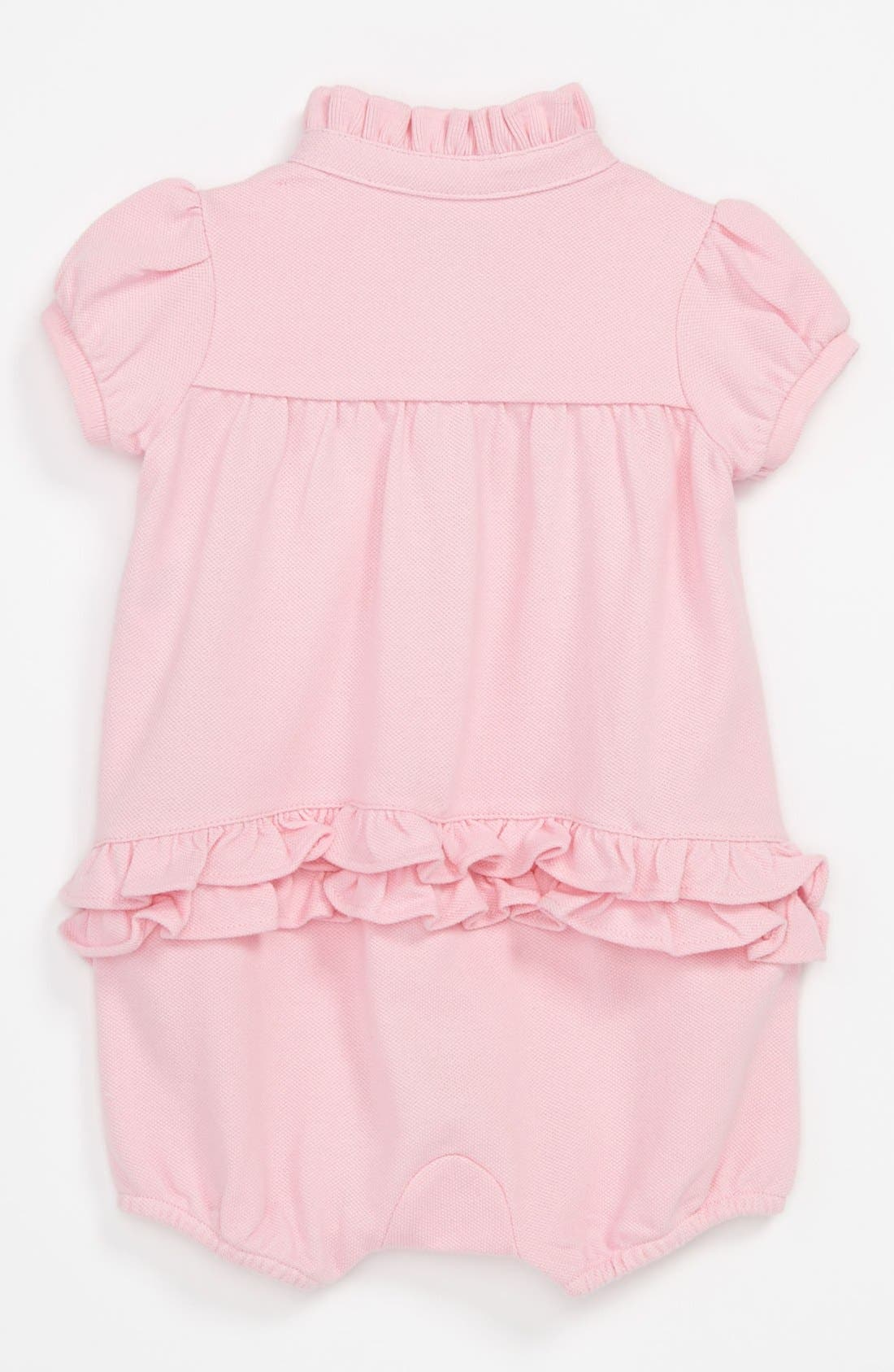 Alternate Image 2  - Ralph Lauren Bubble Coveralls (Baby)
