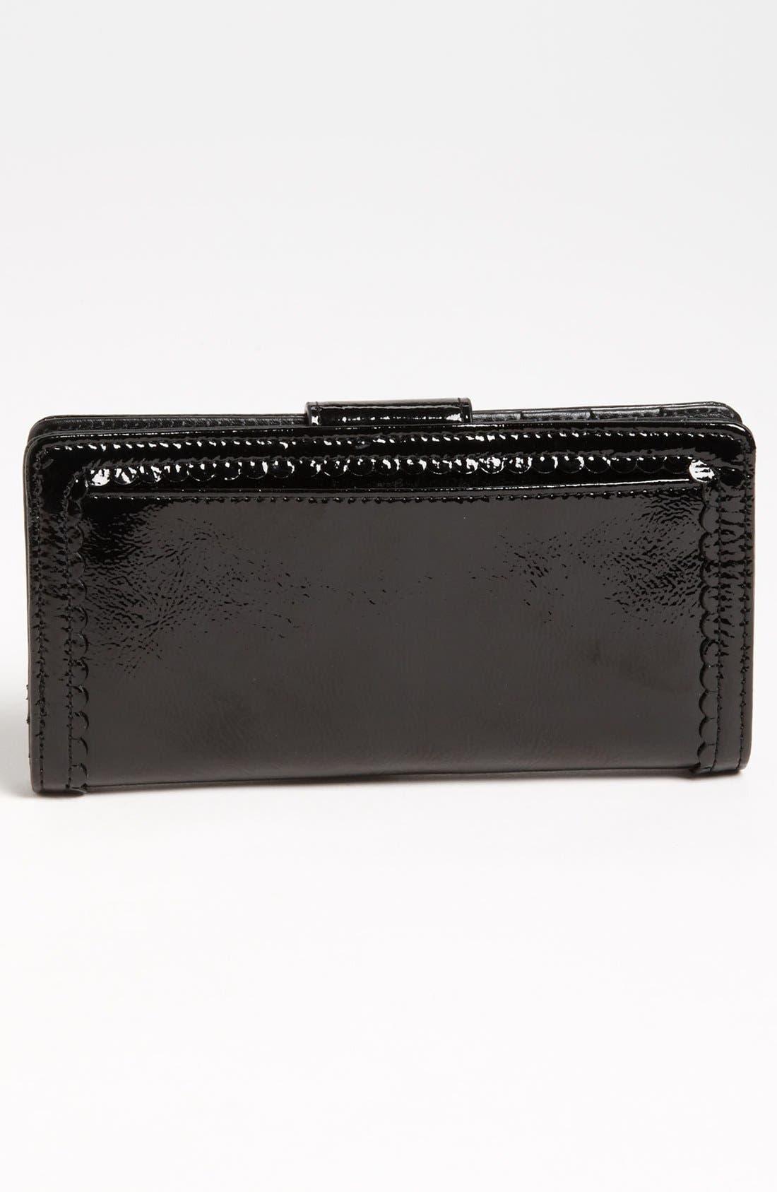Alternate Image 4  - Halogen 'Victoria' Scalloped Trim Wallet