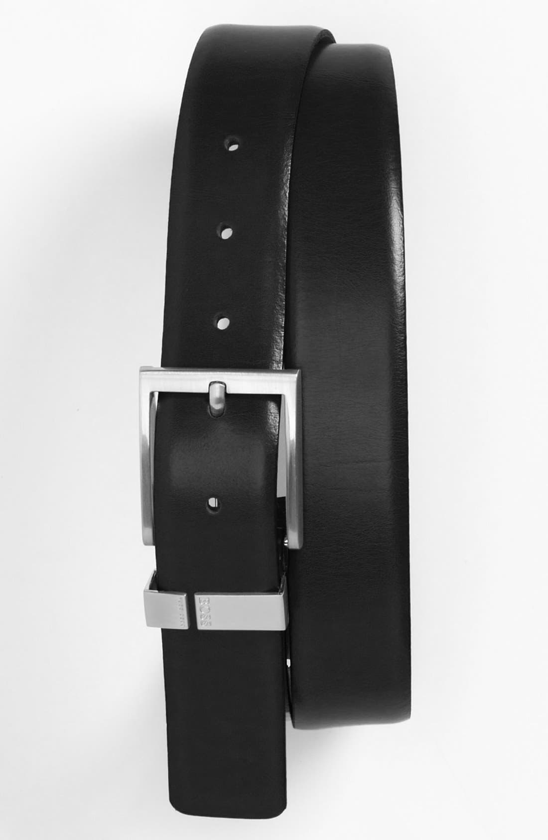Alternate Image 1 Selected - BOSS HUGO BOSS 'Eberto' Belt