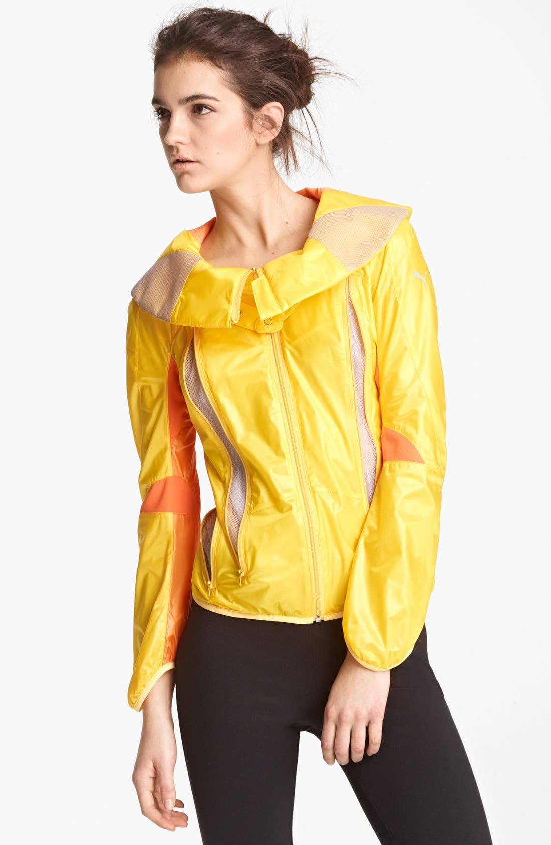 Alternate Image 1 Selected - Junya Watanabe Big Collar Ripstop Nylon Jacket