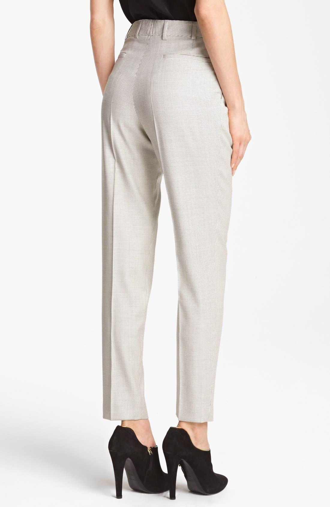 Alternate Image 2  - Armani Collezioni Narrow Leg Pants