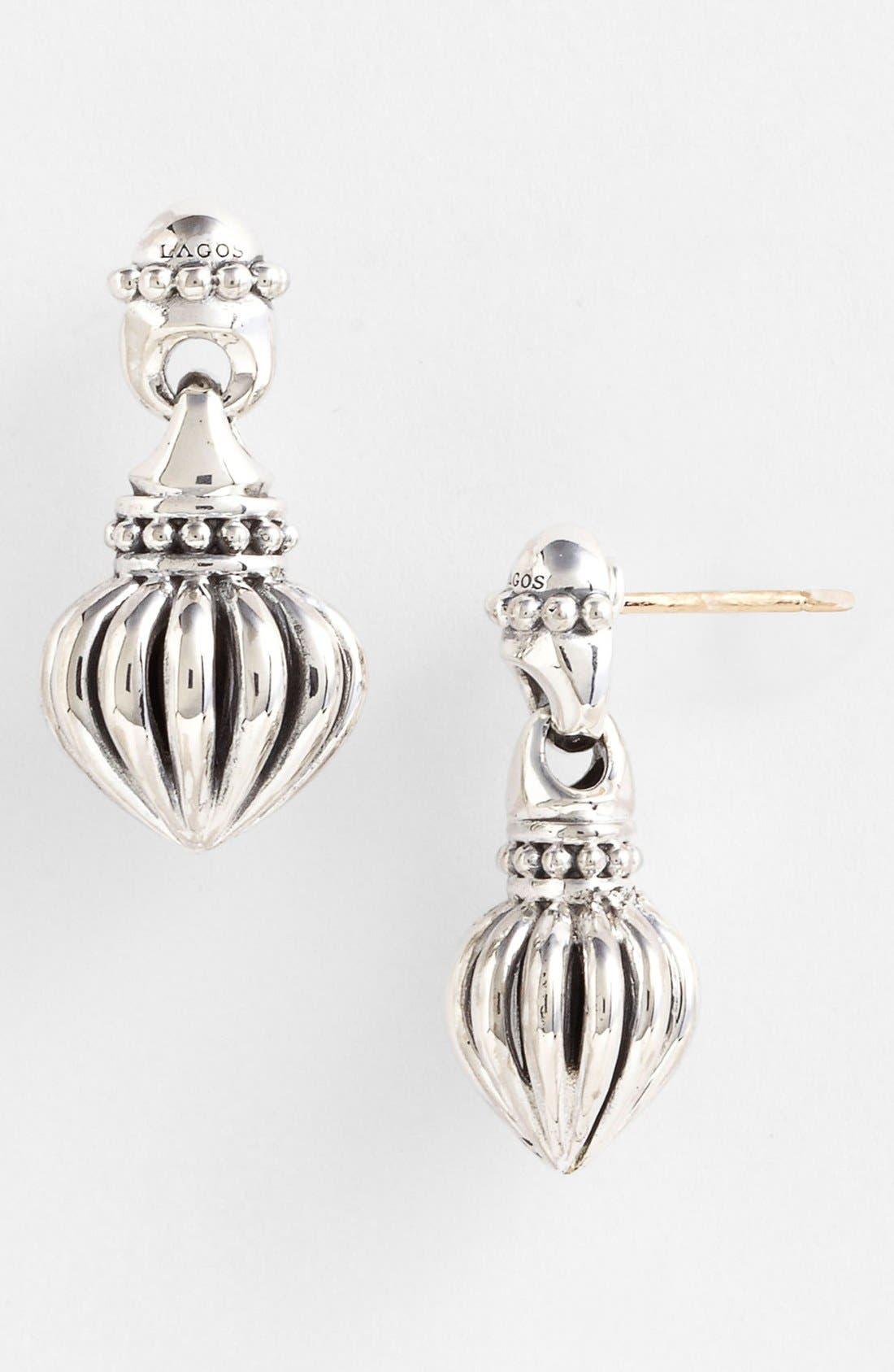 Alternate Image 1 Selected - Lagos Fluted Drop Earrings