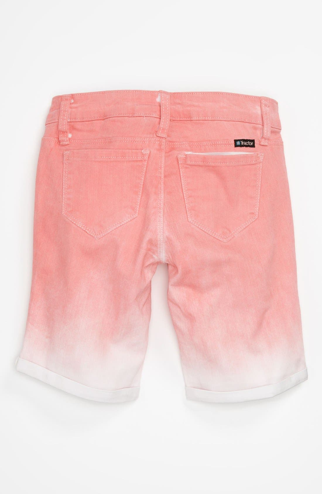 Alternate Image 2  - Tractr Ombré Bermuda Shorts (Big Girls)