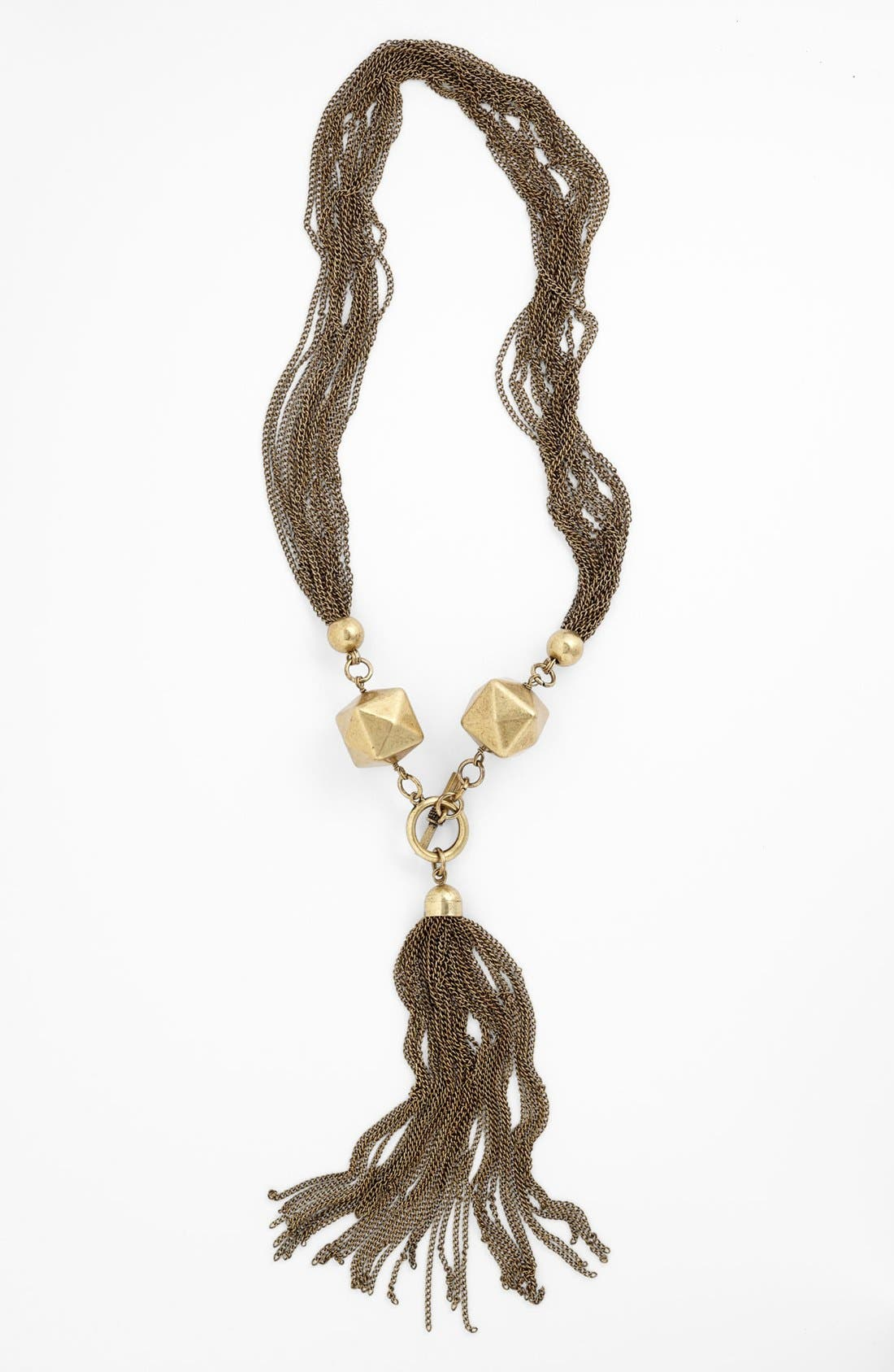 Alternate Image 1 Selected - Cara Couture 'Chunky Tassel' Statement Necklace