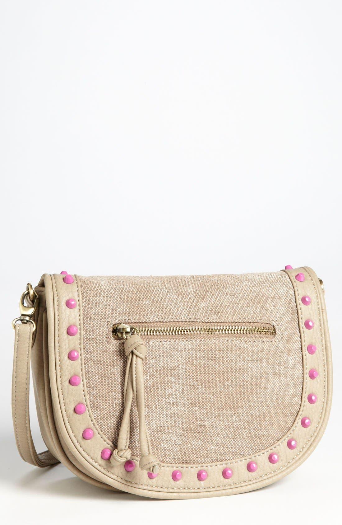 Alternate Image 1 Selected - Tulu Enamel Stud Messenger Bag