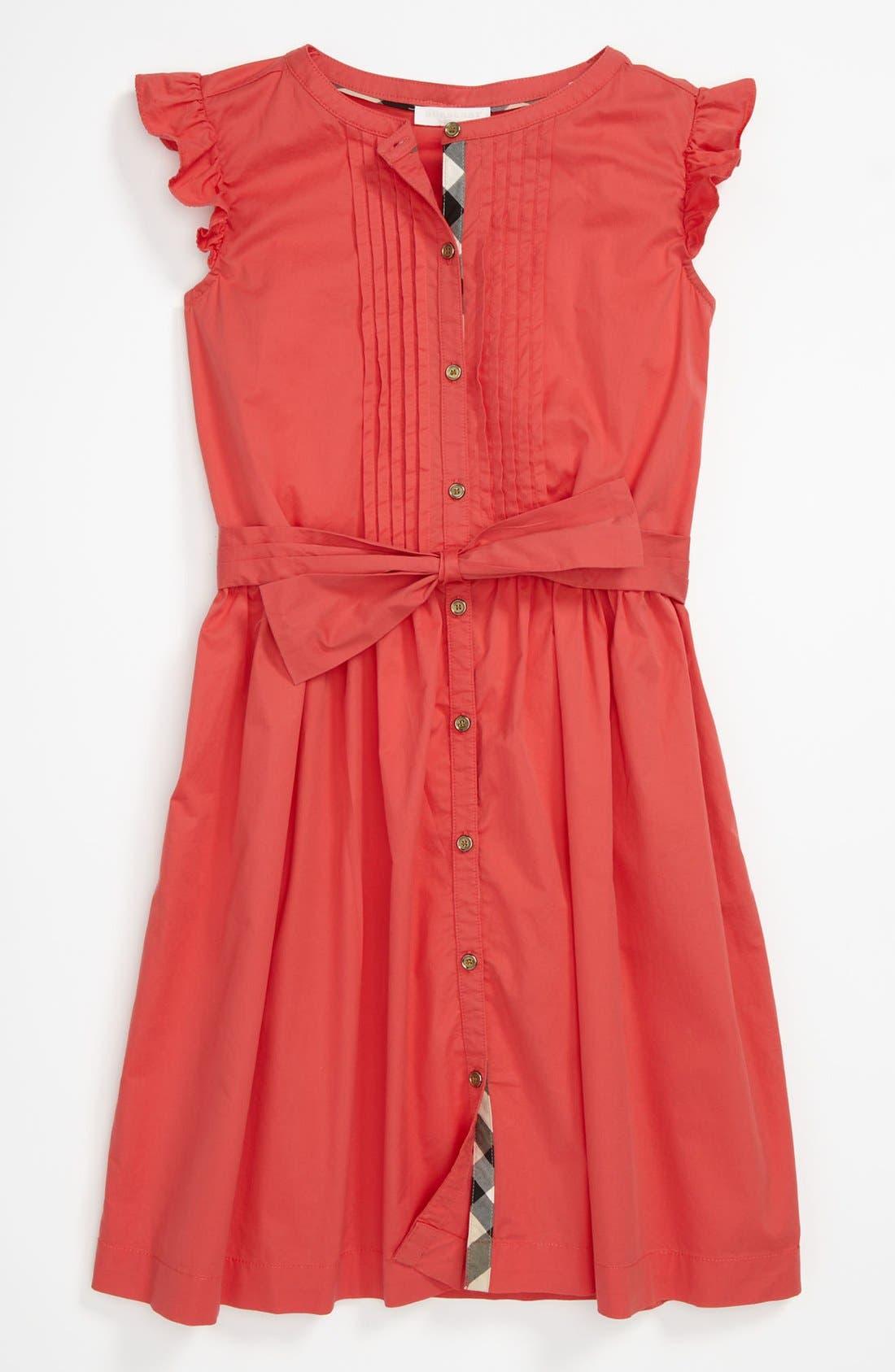 Main Image - Burberry 'Estella' Dress (Little Girls & Big Girls)