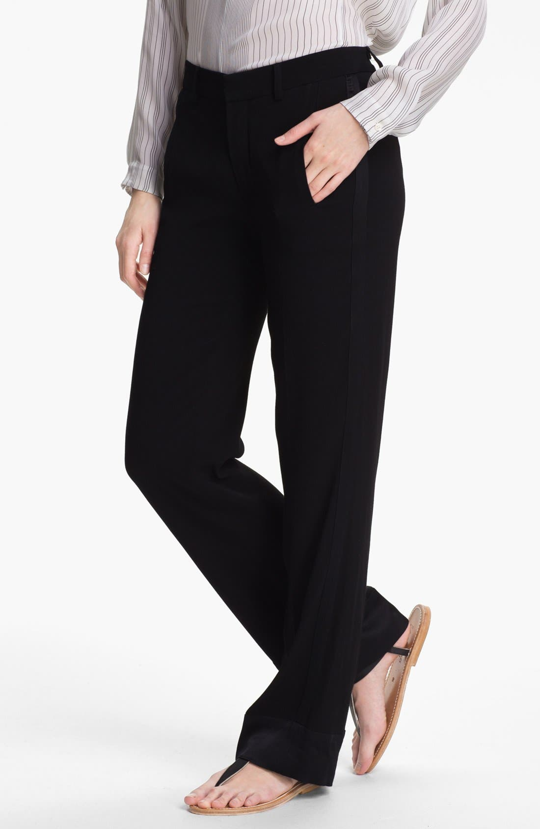 Alternate Image 1 Selected - Vince Crepe Pants