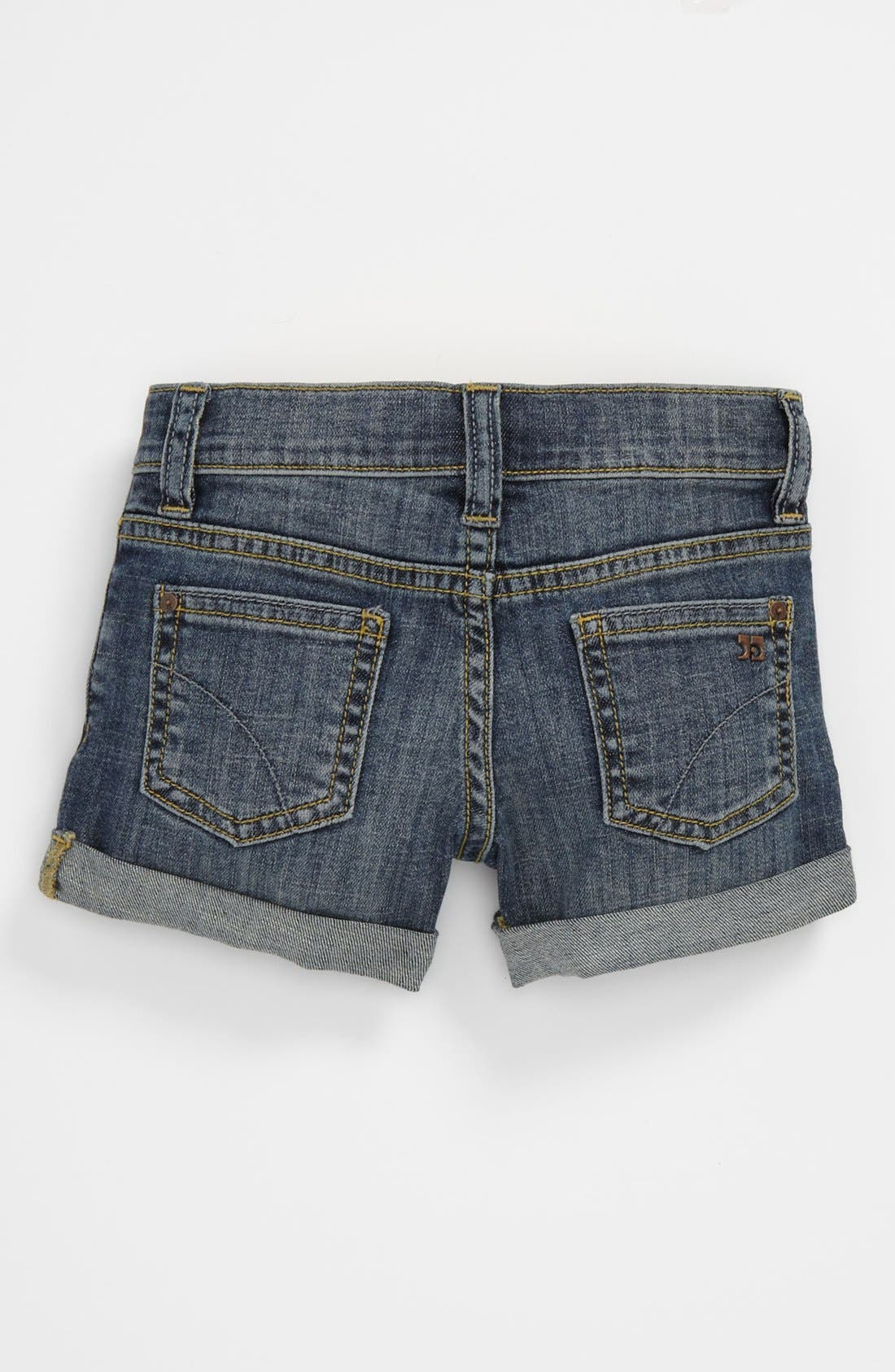 Alternate Image 1 Selected - Joe's 'New Rolled Mini' Denim Shorts (Toddler Girls)