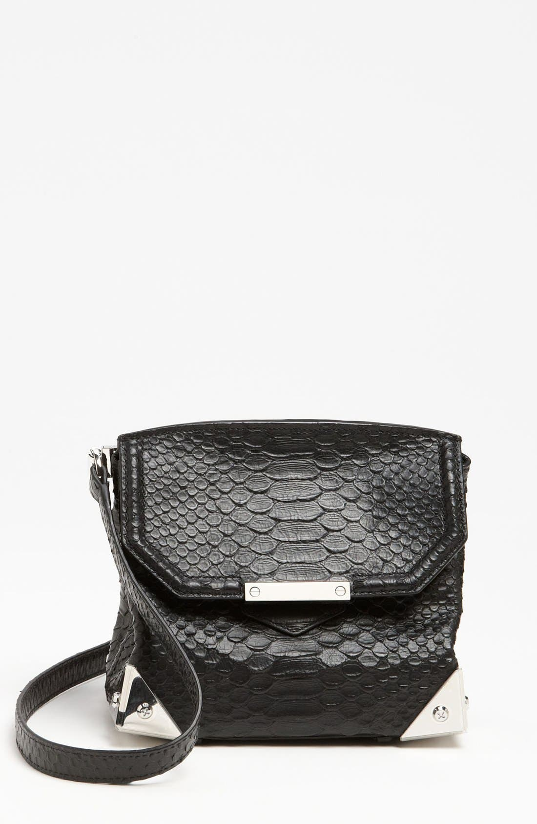 Main Image - Alexander Wang 'Marion - Prisma' Python Embossed Leather Crossbody Bag