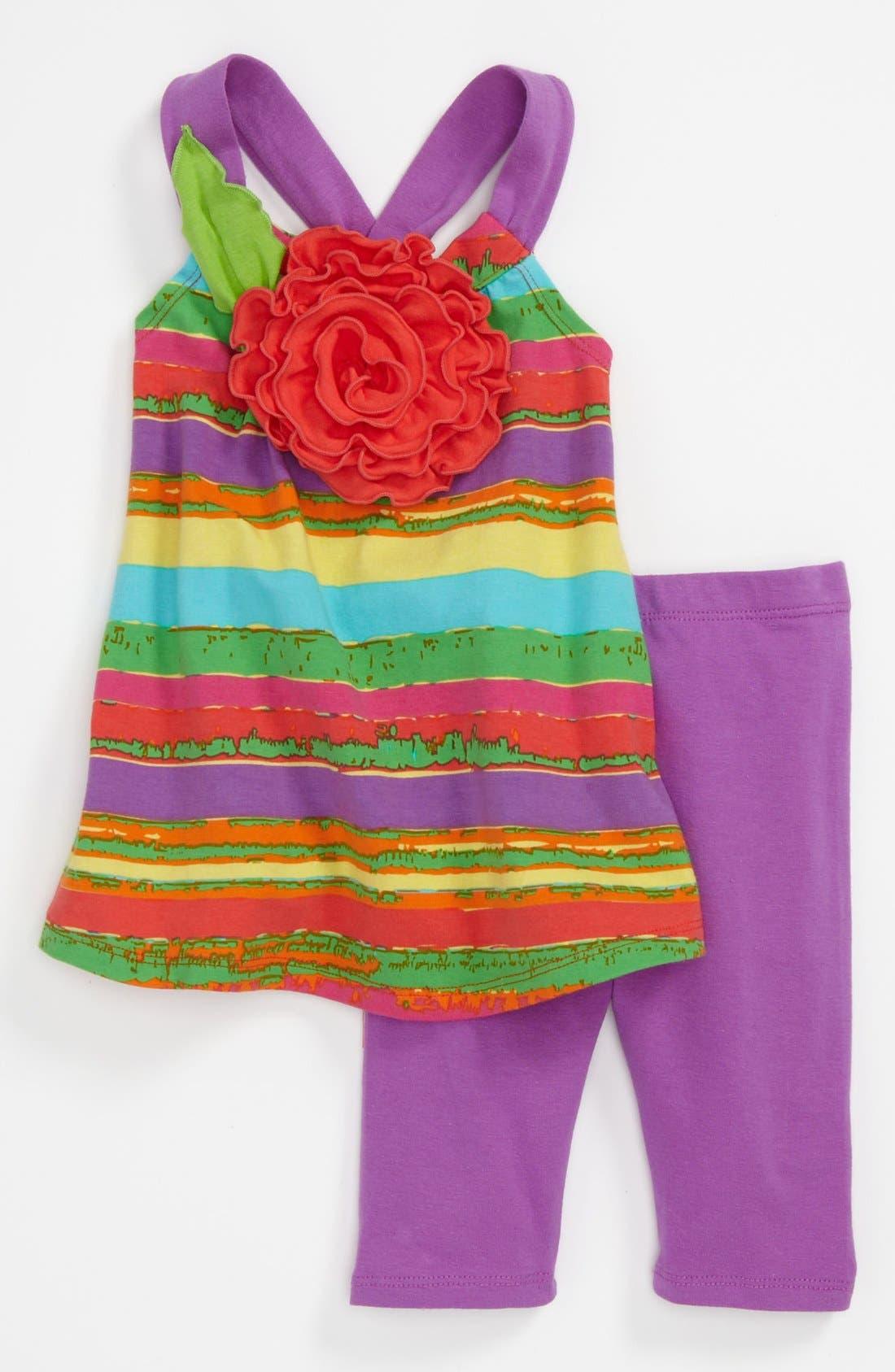 Alternate Image 1 Selected - Iris & Ivy Dress & Leggings (Toddler)