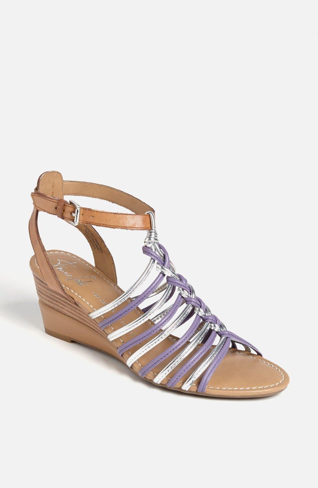 Alternate Image 1 Selected - Franco Sarto 'Everly' Wedge Sandal