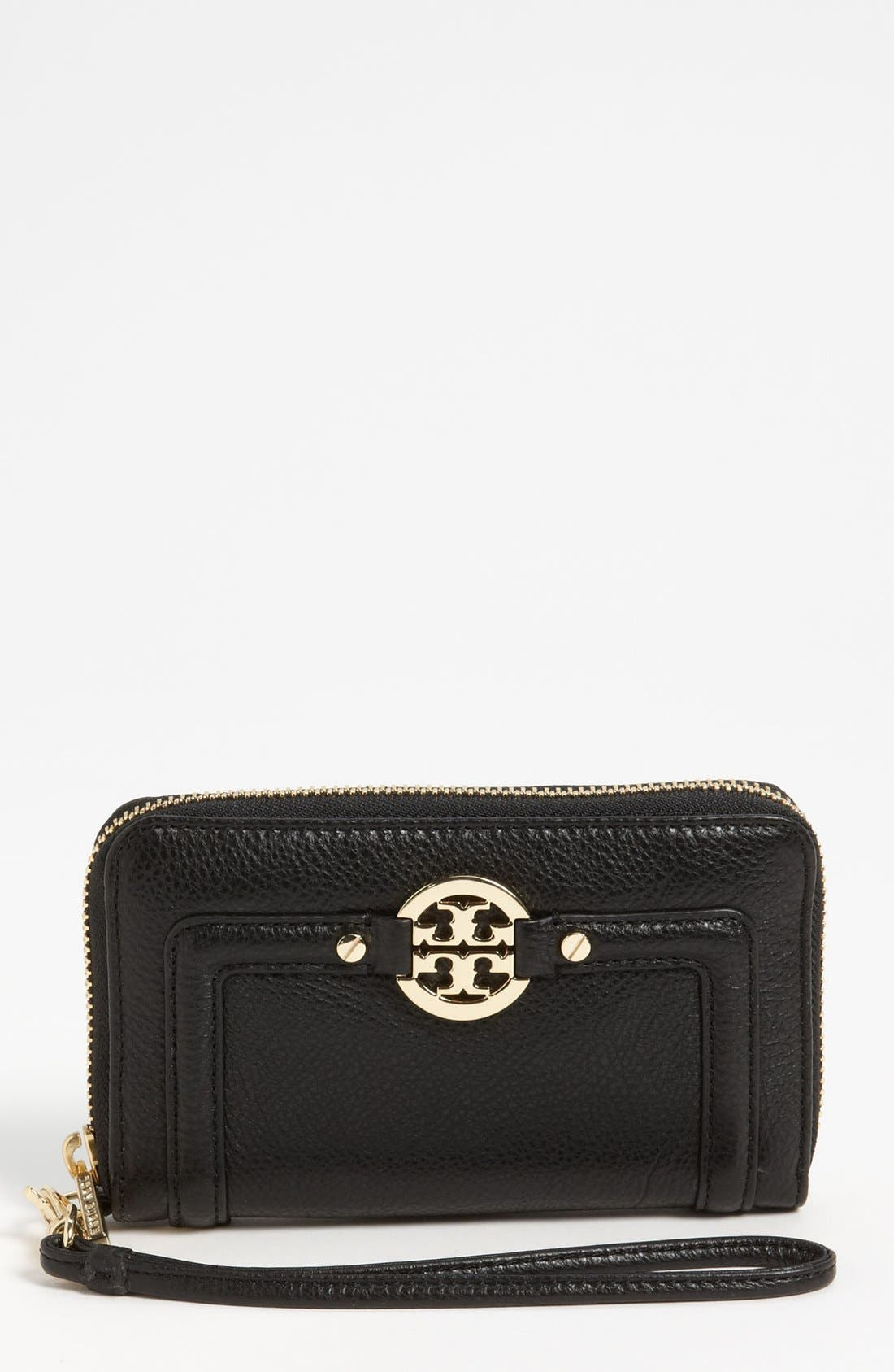 Alternate Image 1 Selected - Tory Burch 'Amanda' Smartphone Wristlet