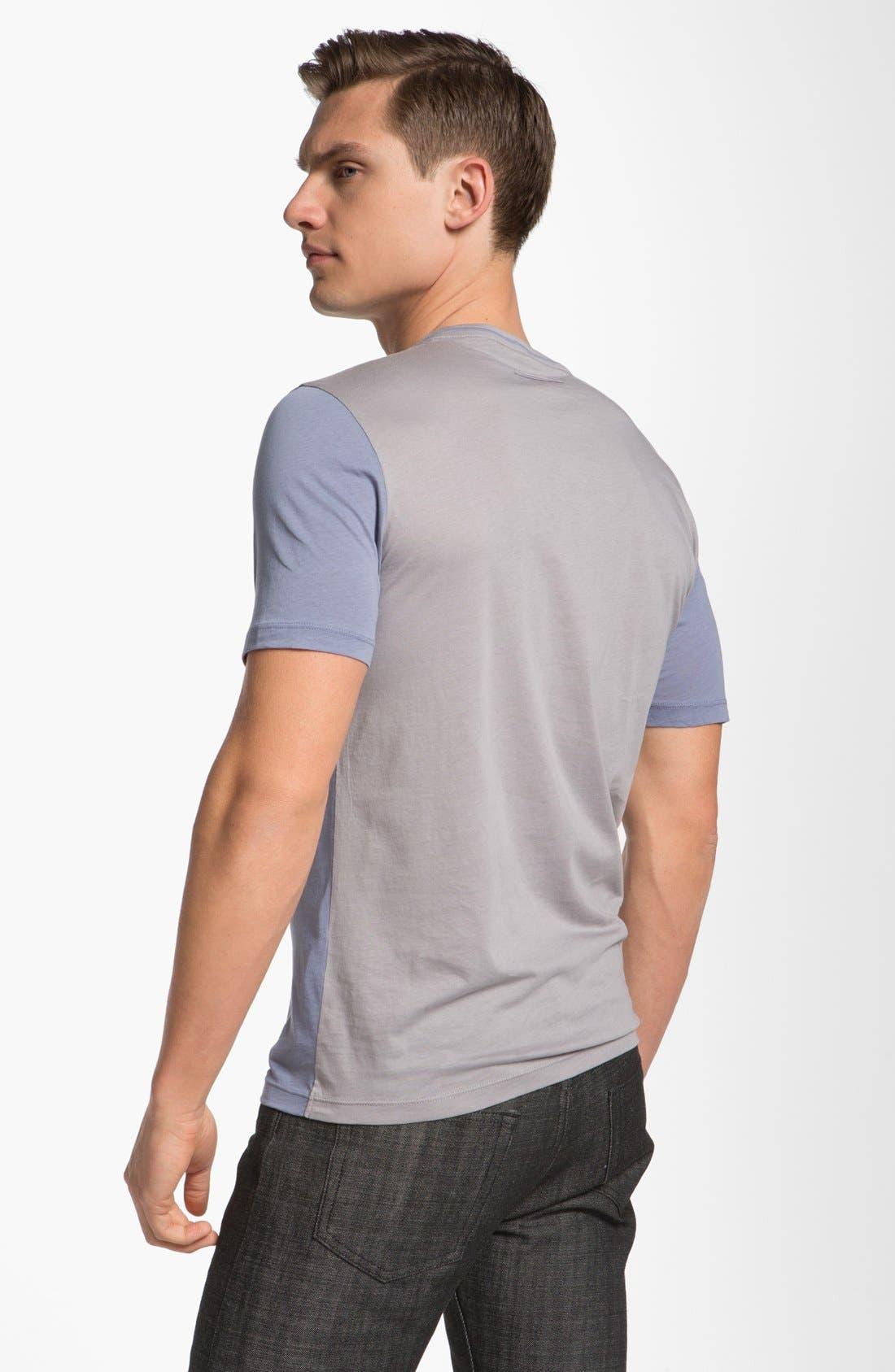 Alternate Image 2  - Z Zegna Two Tone T-Shirt