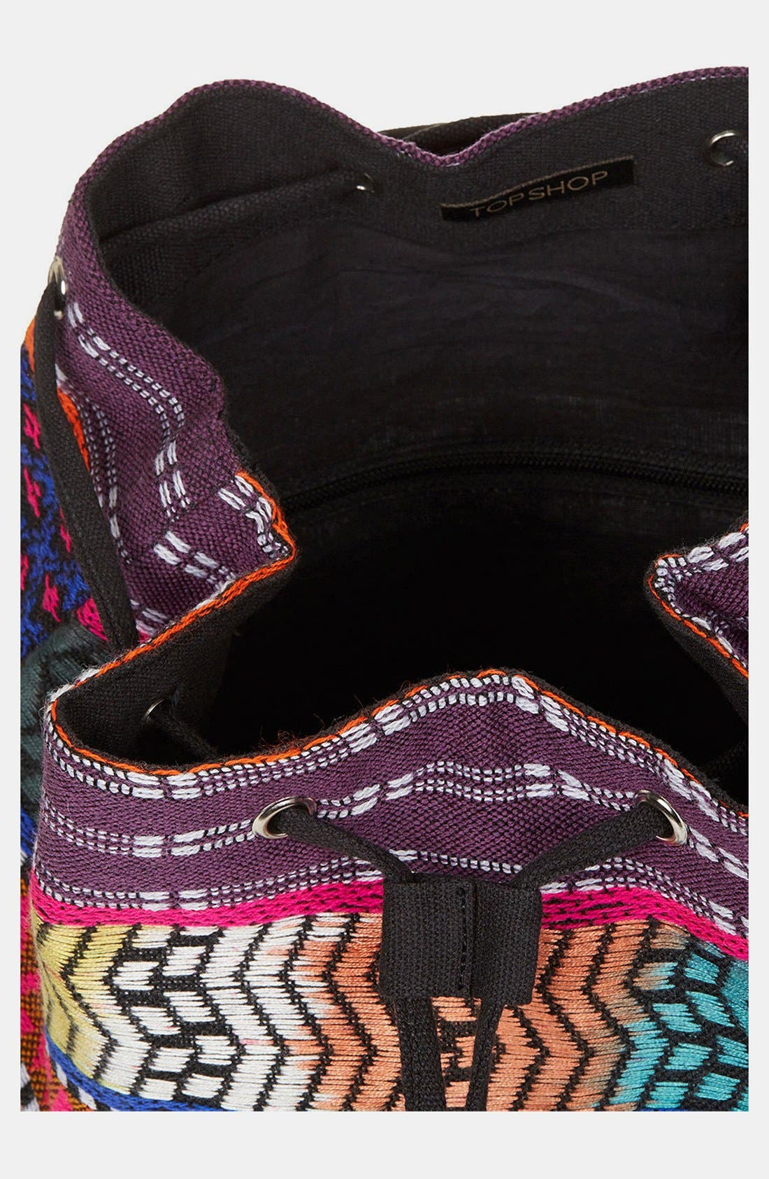 Alternate Image 3  - Topshop Ikat Backpack