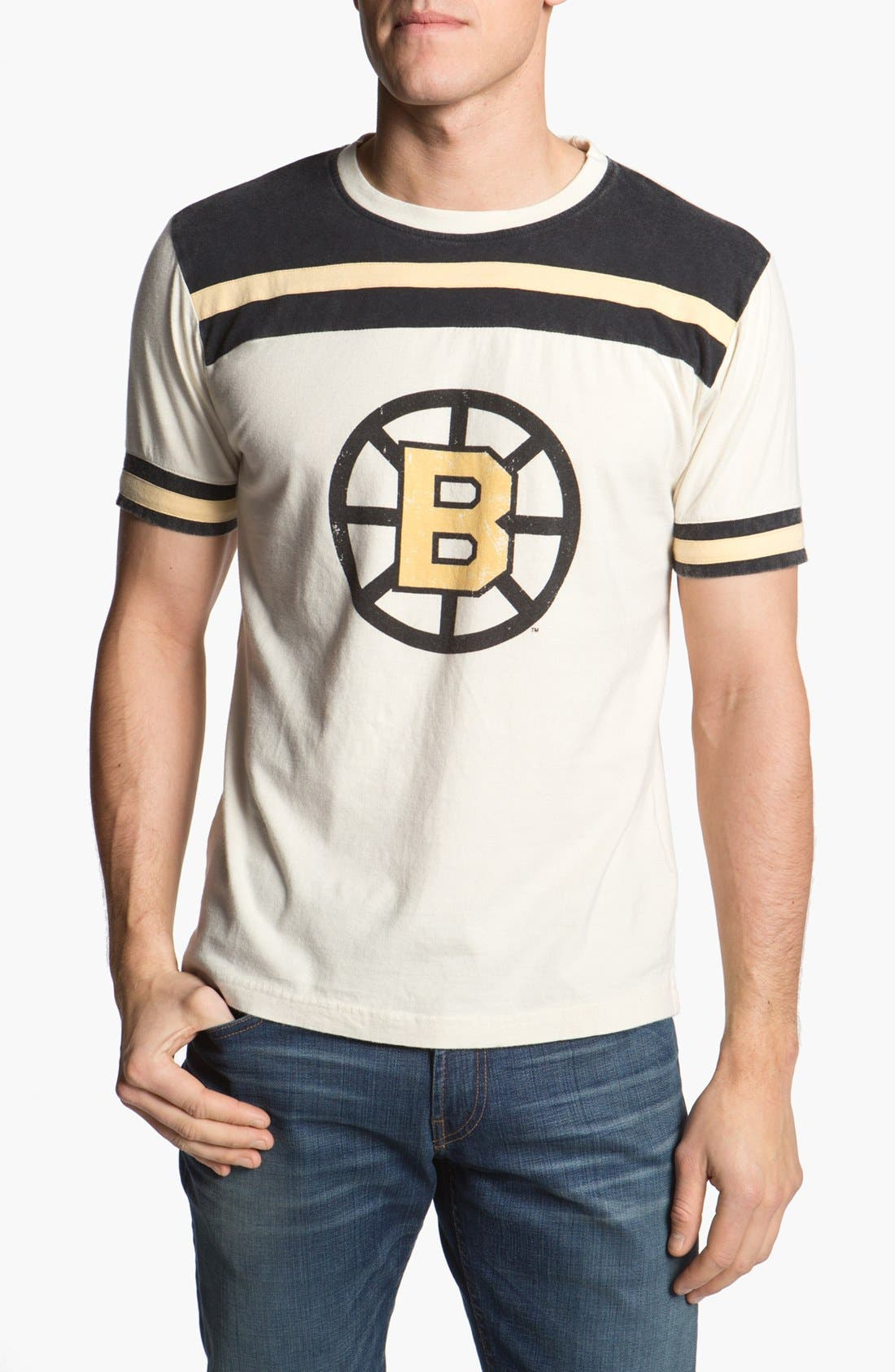 Alternate Image 1 Selected - Red Jacket 'Boston Bruins - Remote Control' T-Shirt (Men)