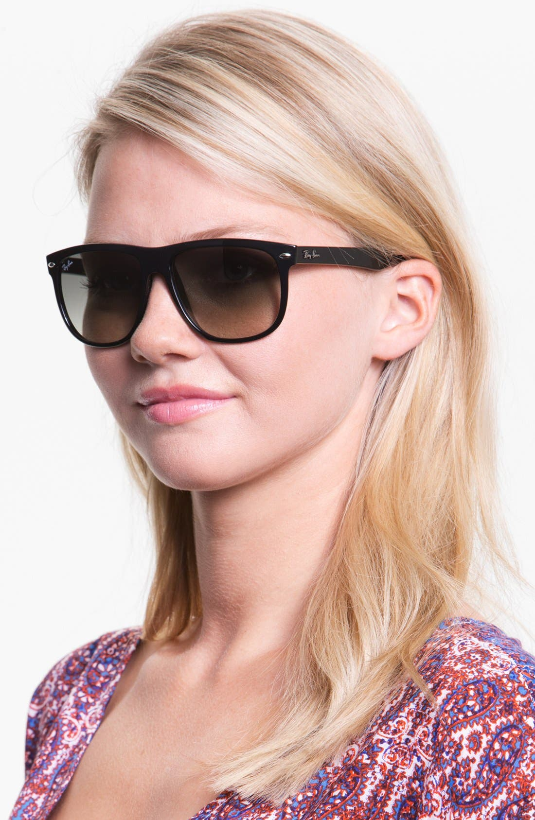 Alternate Image 2  - Ray-Ban 'Boyfriend Flat Top Frame' 56mm Sunglasses