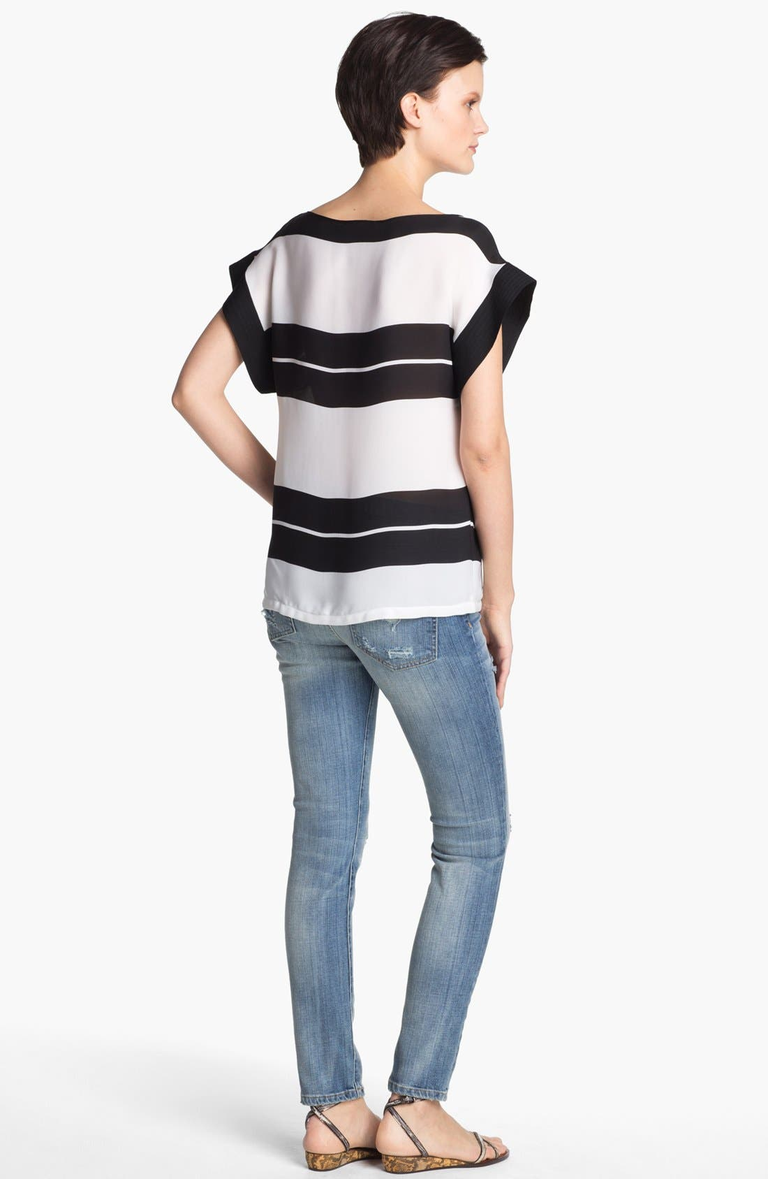 Alternate Image 2  - A.L.C. 'Chavelli' Stripe Top