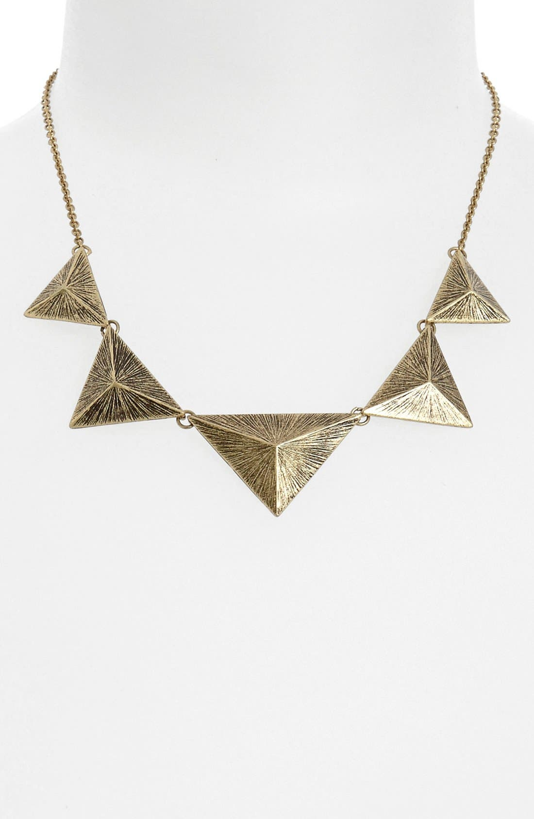 Alternate Image 1 Selected - Stephan & Co. Pyramid Statement Necklace
