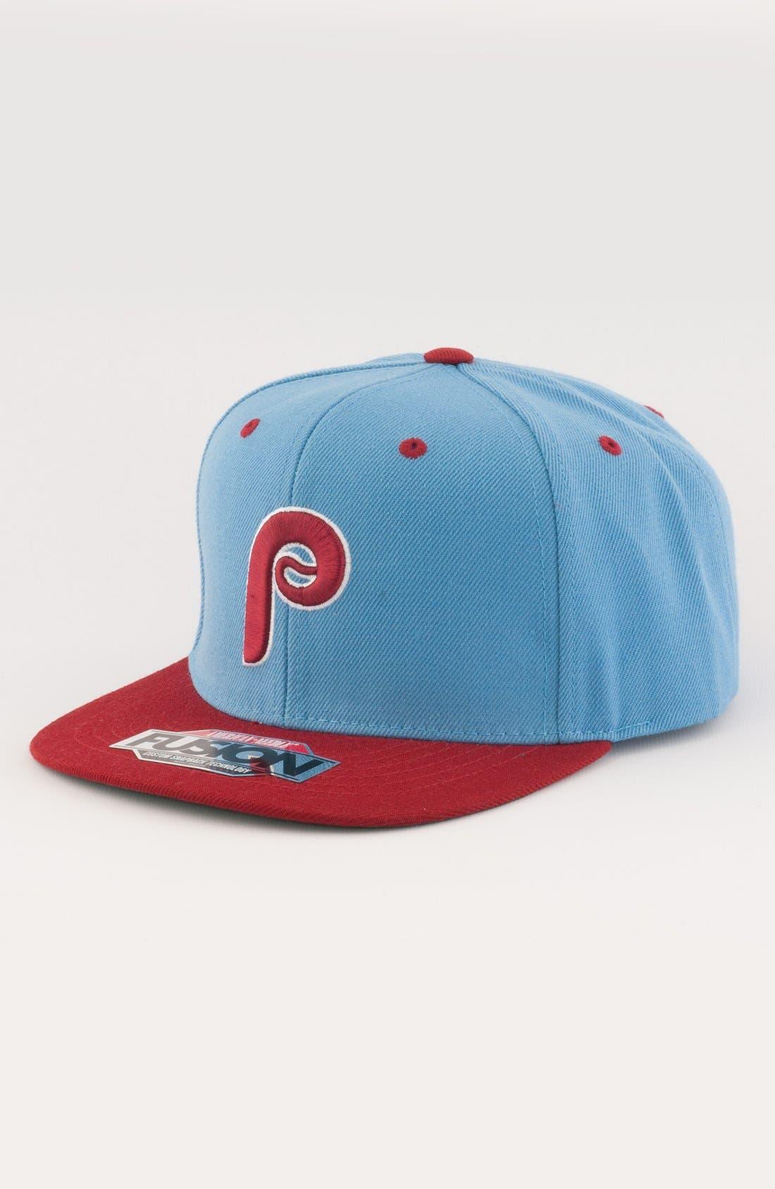 Alternate Image 1 Selected - American Needle 'Philadelphia Phillies - Back 2 Front' Snapback Baseball Cap