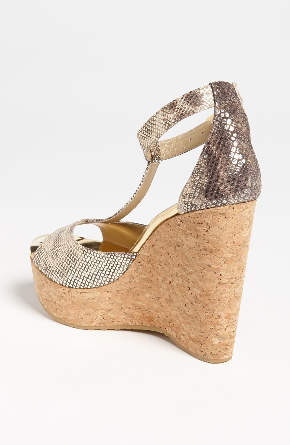 Alternate Image 2  - Jimmy Choo 'Pela' Cork Wedge Sandal