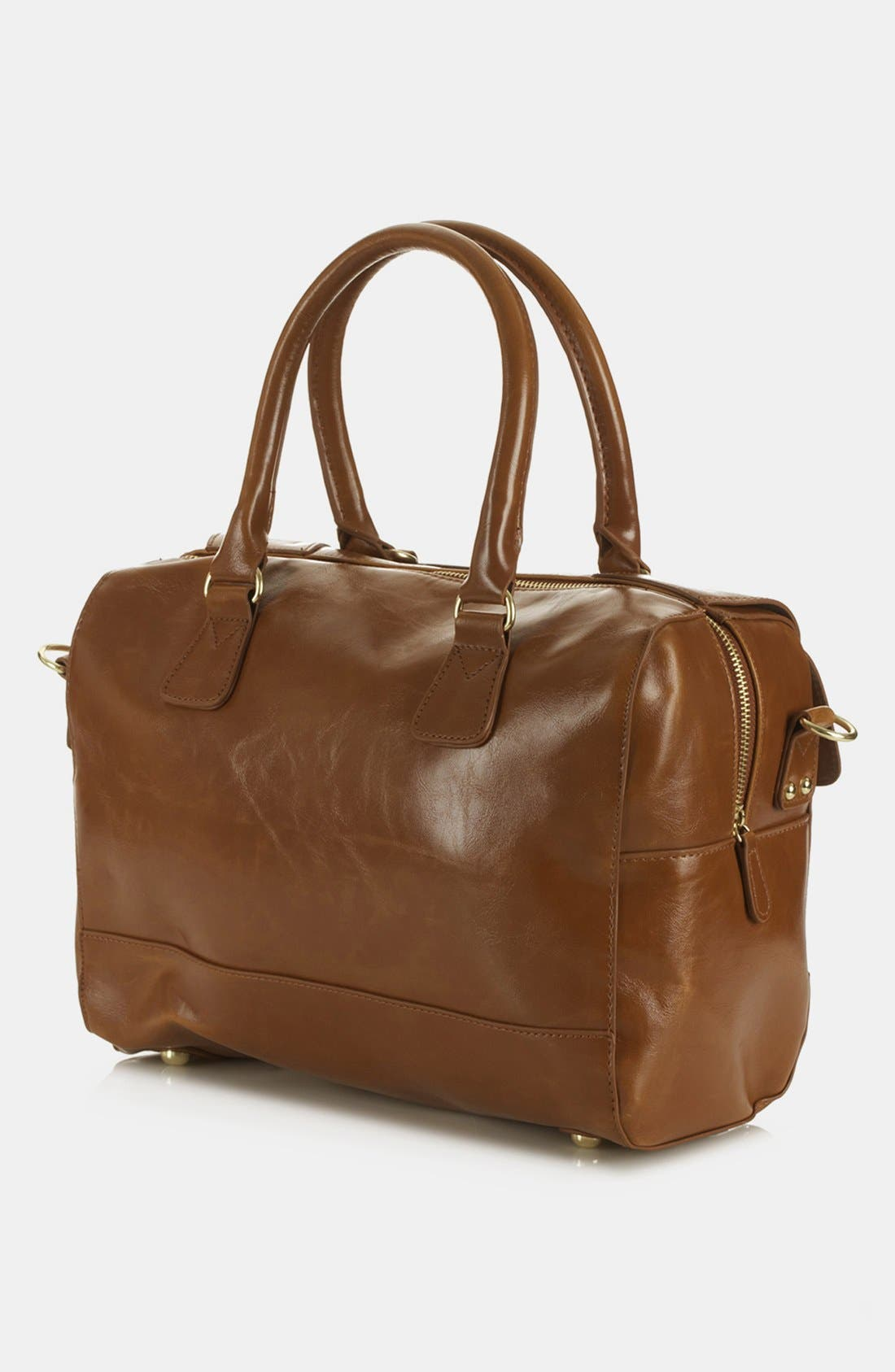 Alternate Image 2  - Topshop 'Clean Bowling Bag' Satchel