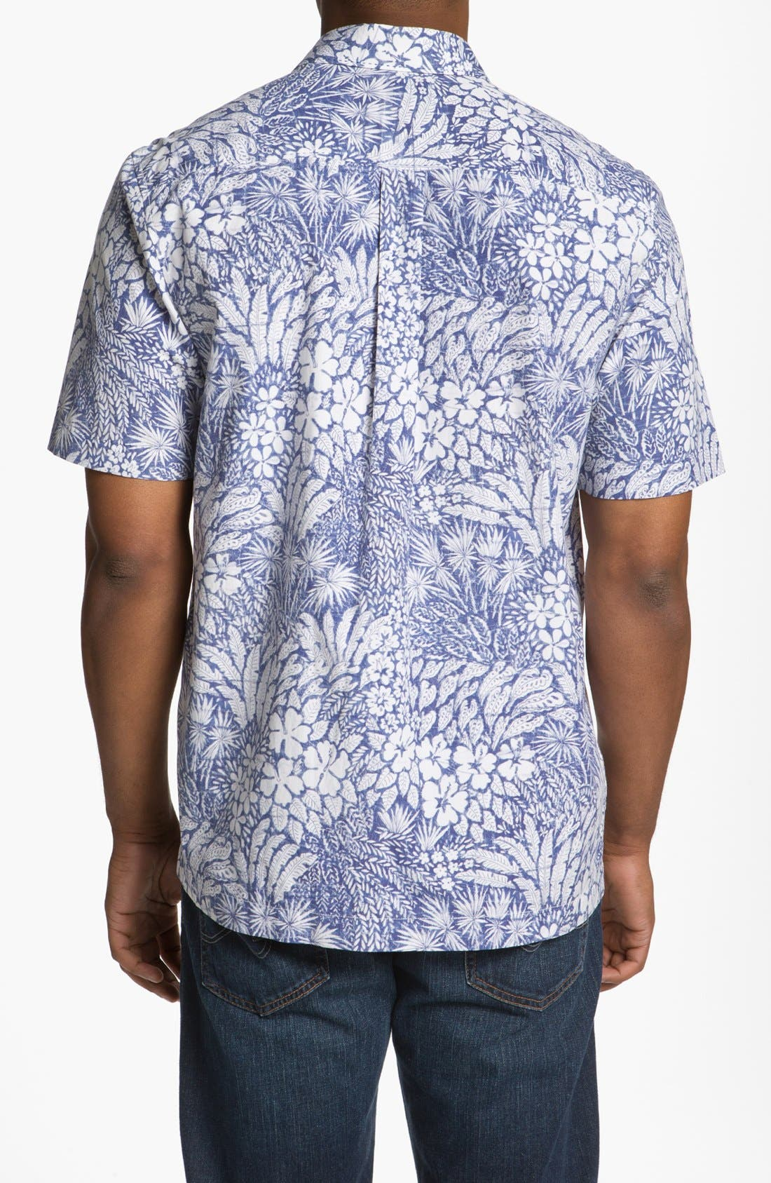 Alternate Image 2  - Tommy Bahama 'Grove Is in the Heart' Silk Blend Campshirt