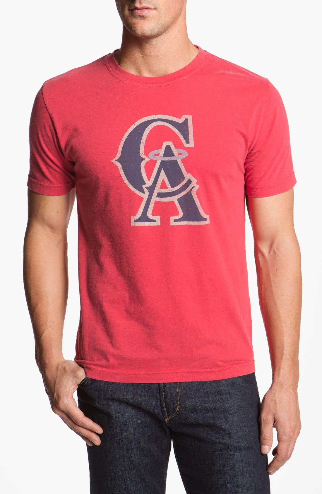 Alternate Image 1 Selected - Red Jacket 'Los Angeles Angels - Brass Tack' T-Shirt
