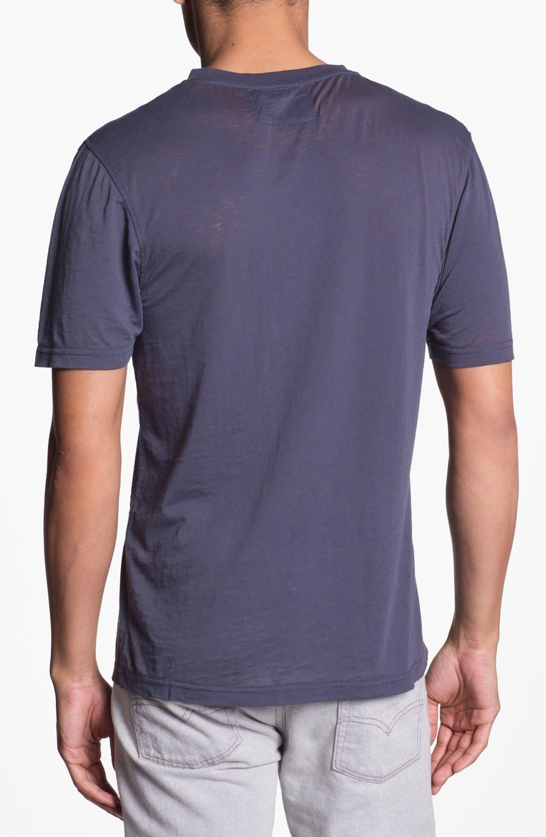 Alternate Image 2  - Red Jacket 'Yankees - V-Wood' V-Neck T-Shirt