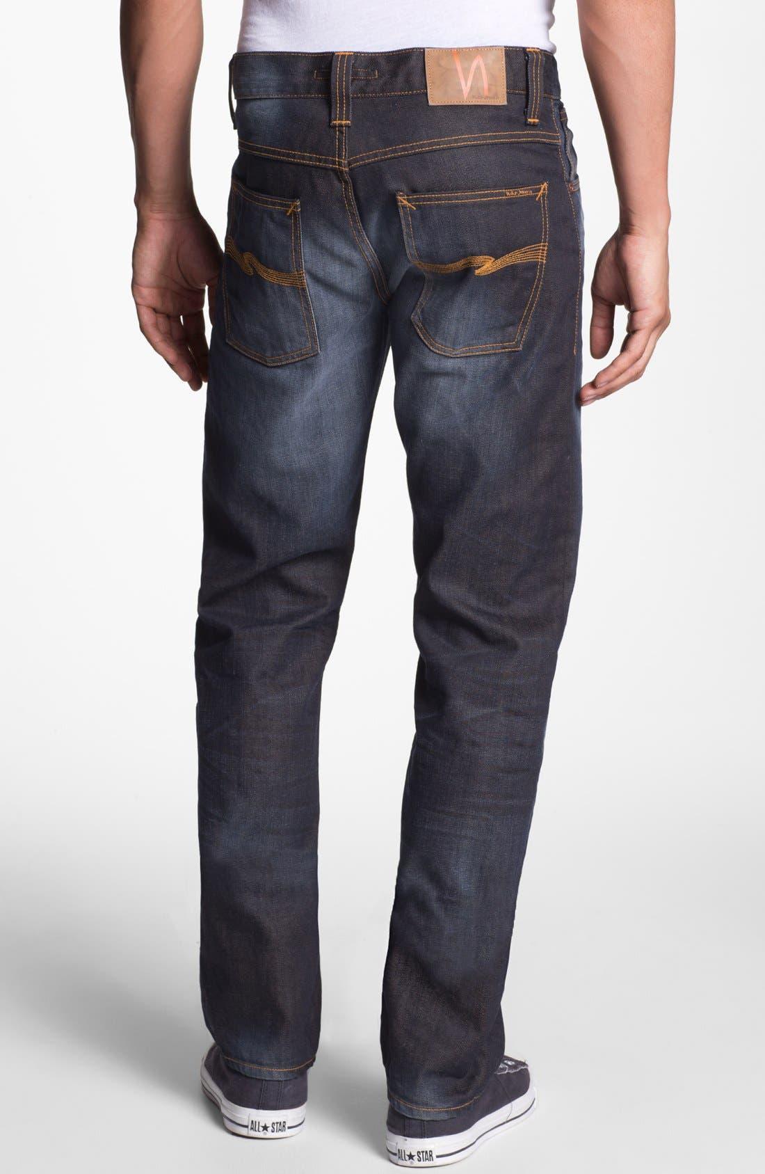 Main Image - Nudie Jeans 'Average Joe' Straight Leg Jeans (Organic Steve Replica)